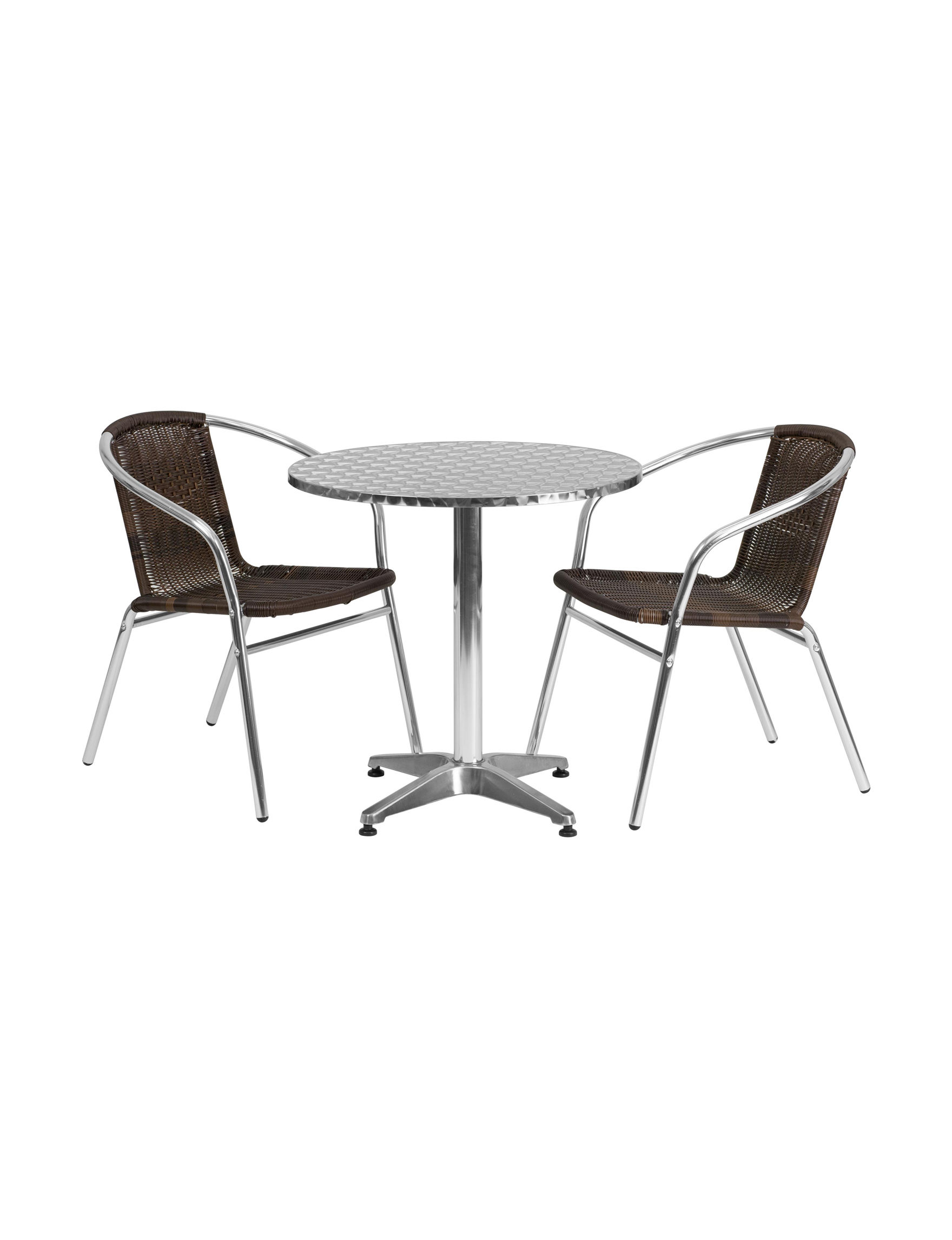 Flash Furniture Brown Kitchen & Dining Furniture Patio & Outdoor Furniture