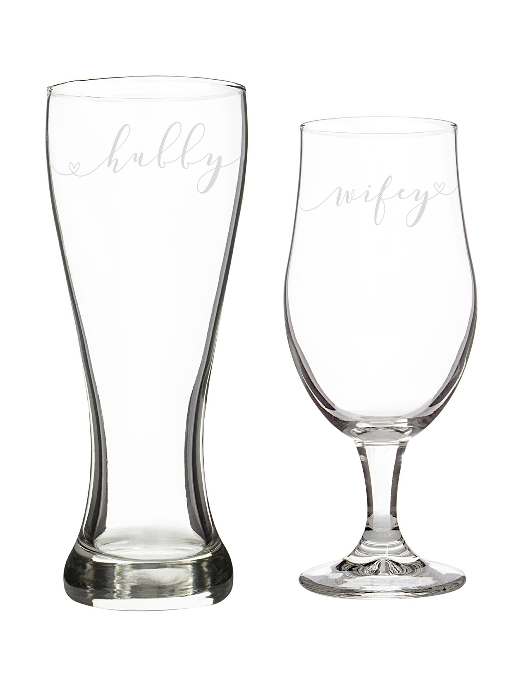 Cathy's Concepts Clear Drinkware Sets Drinkware