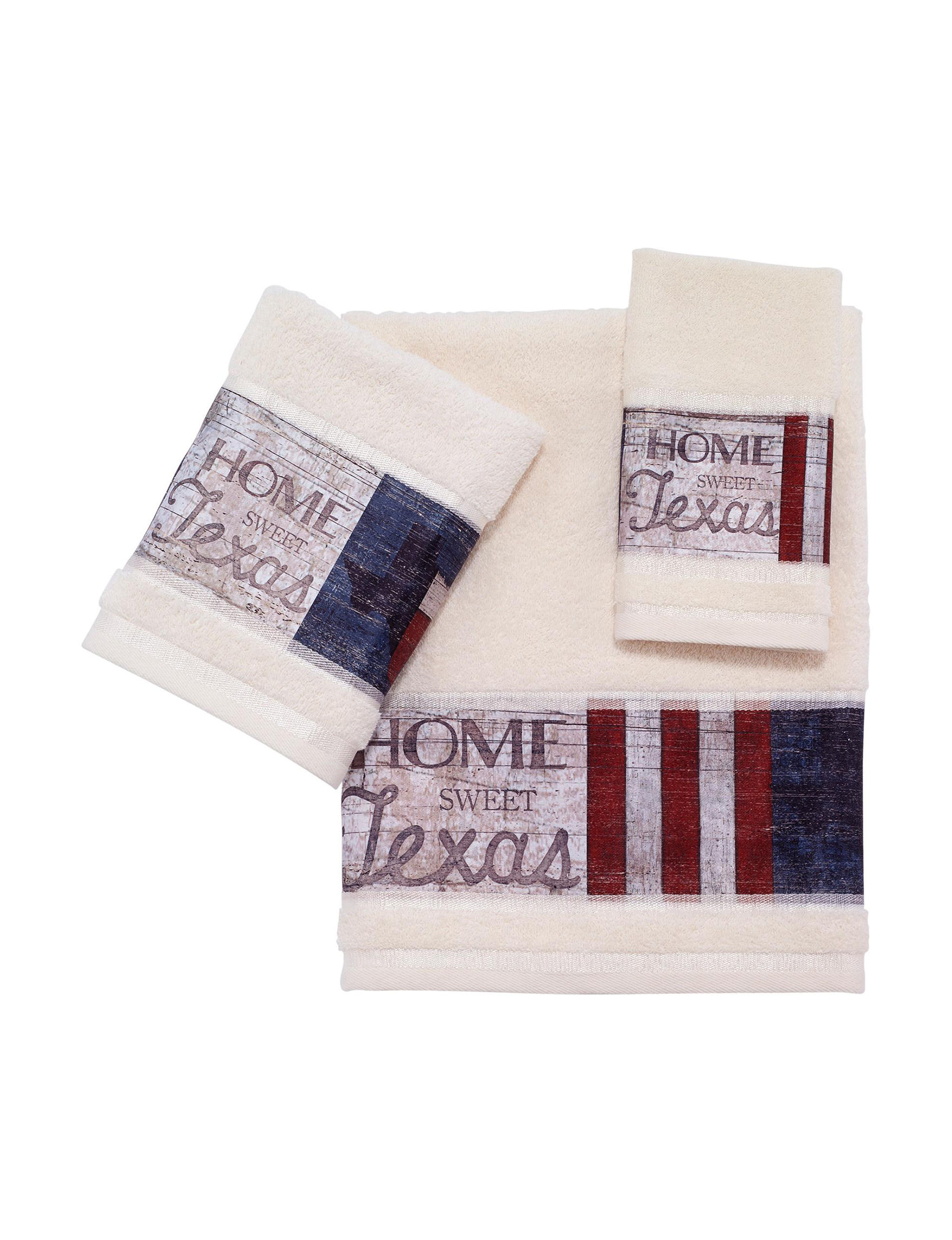 Avanti Cream Towel Sets Towels