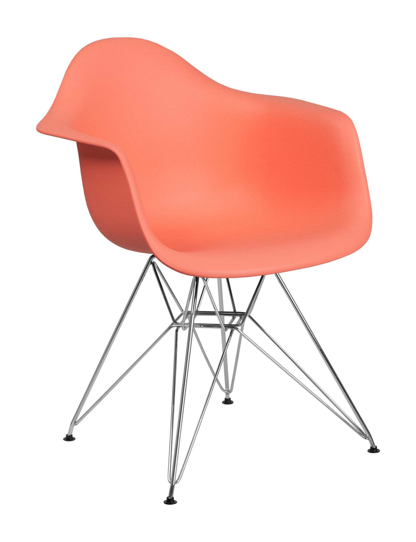 Flash Furniture Peach Accent Chairs Bedroom Furniture Living Room Furniture