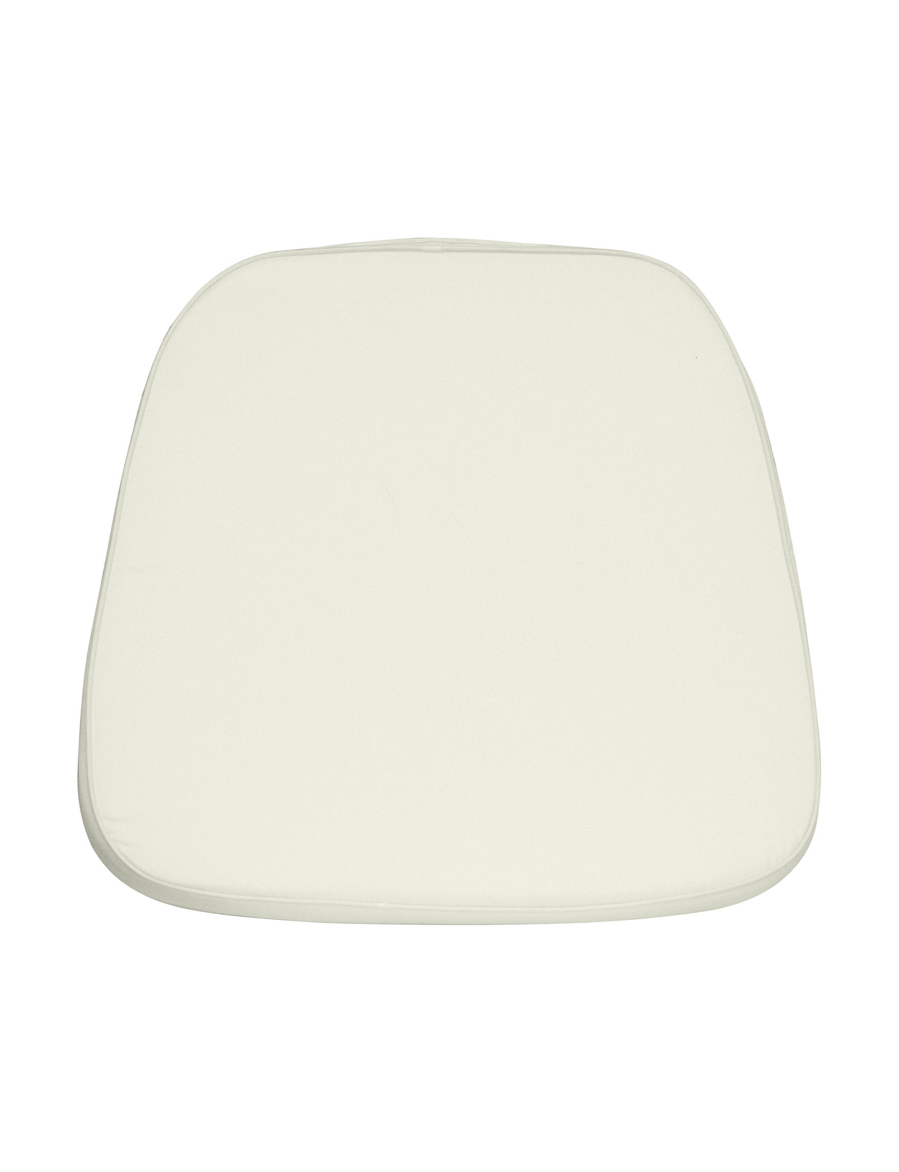 Flash Furniture Ivory Chair Pads Home Office Furniture Living Room Furniture