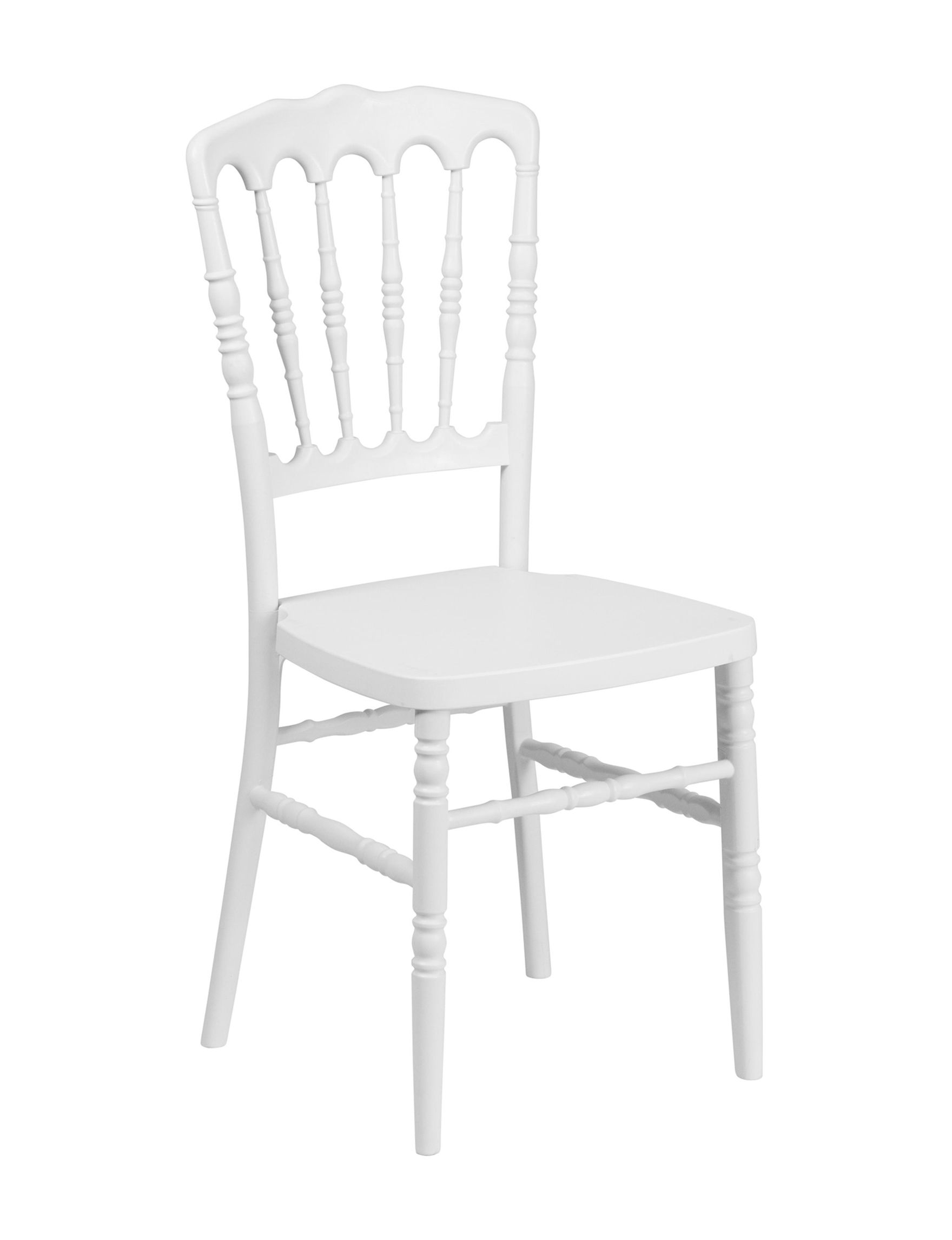 Flash Furniture White Accent Chairs Dining Chairs Kitchen & Dining Furniture Living Room Furniture