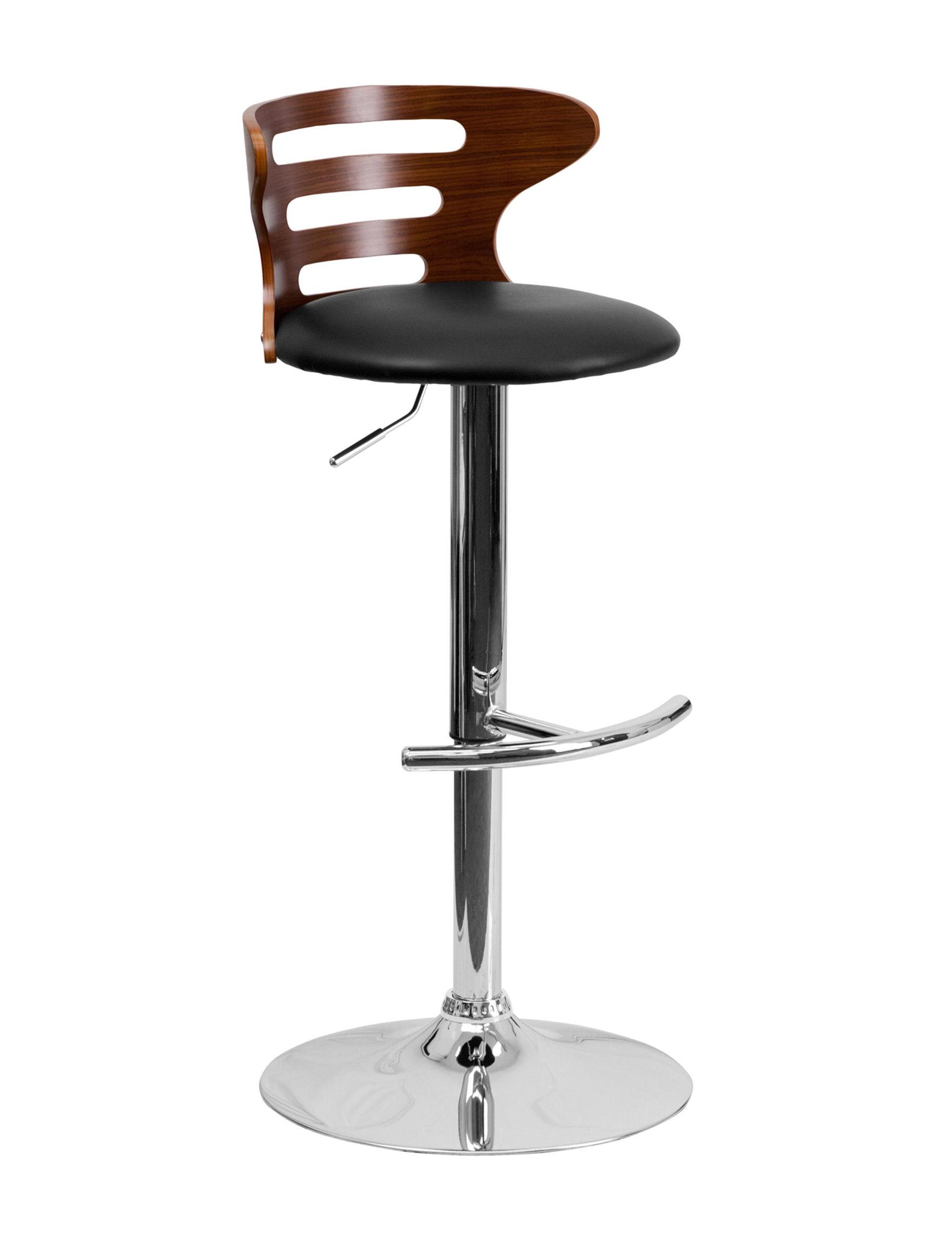 Flash Furniture Dark Brown Bar & Kitchen Stools Kitchen & Dining Furniture