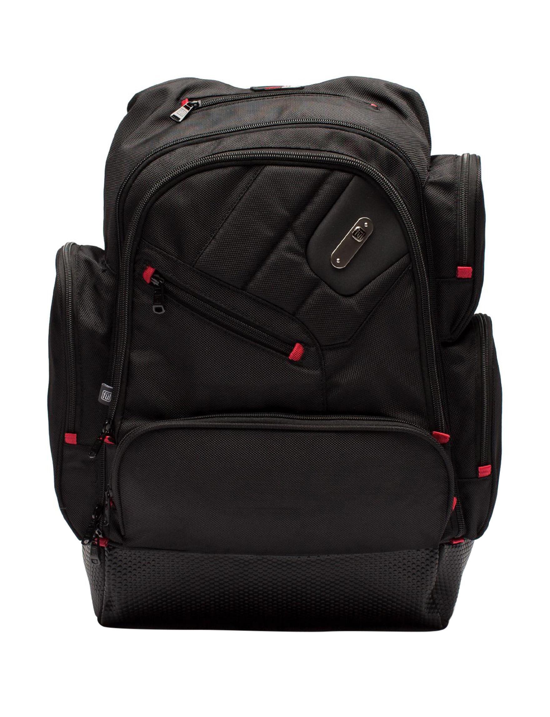 Ful Black Laptop & Messenger Bags