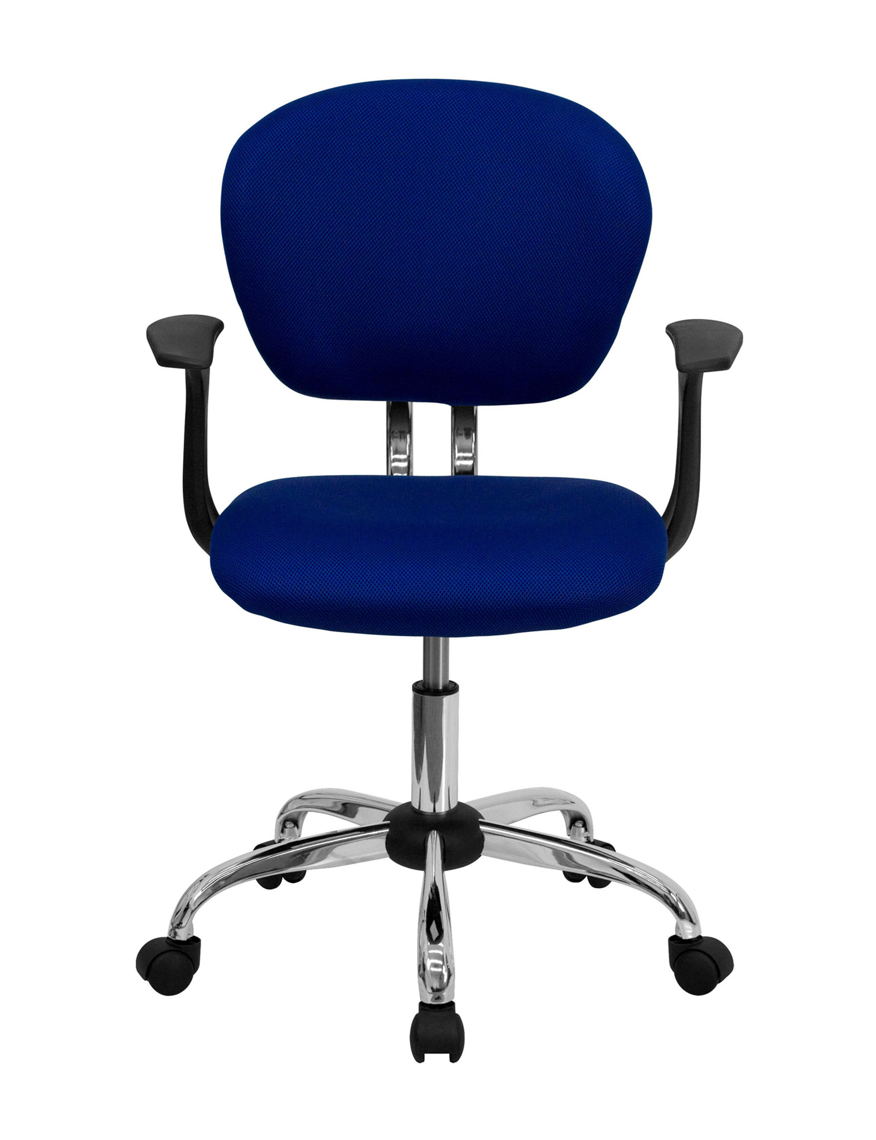 Flash Furniture Blue Office Chairs Home Office Furniture