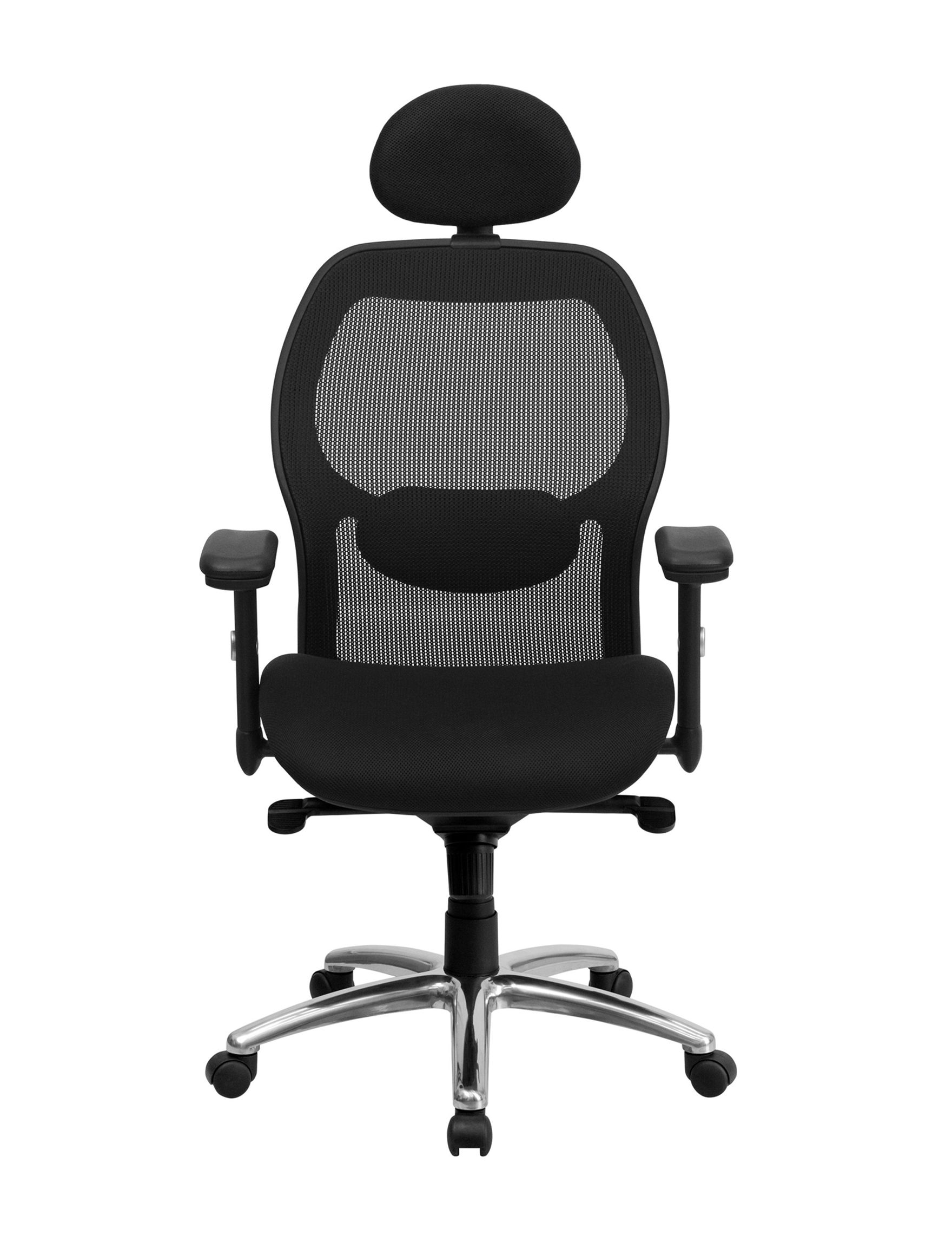 Flash Furniture Black Fabric Desk Chairs Office Chairs Home Office Furniture