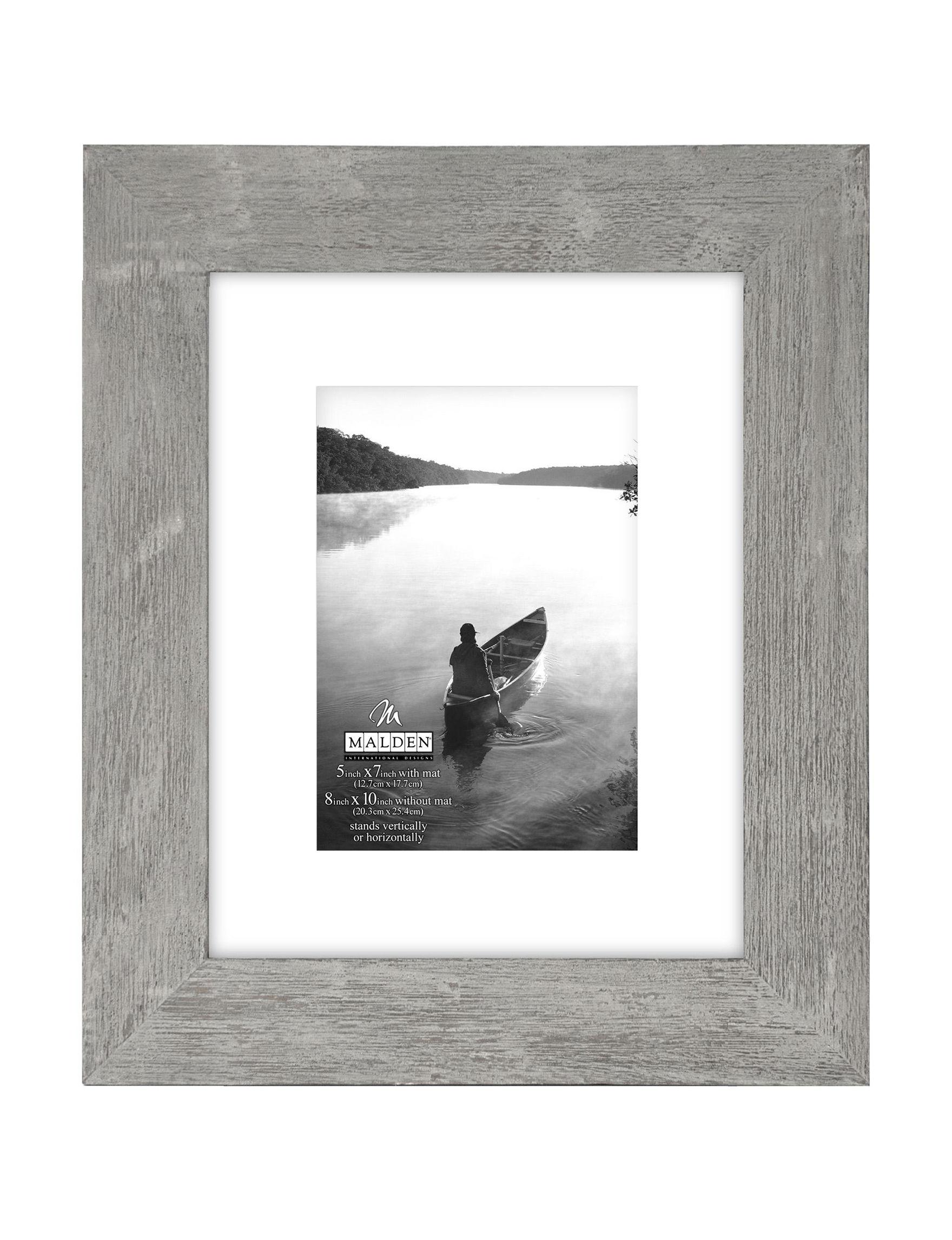Malden Grey Frames & Shadow Boxes