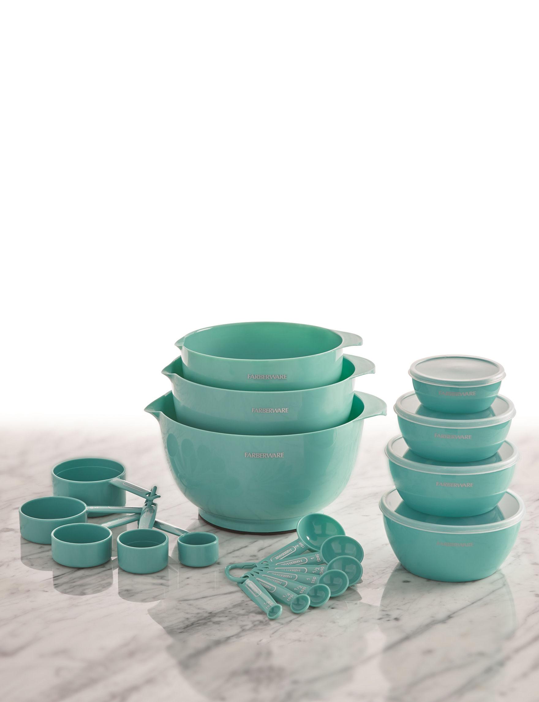 Farberware  Bakeware Sets Measuring Cups & Spoons Mixing Bowls Bakeware Kitchen Storage & Organization Prep & Tools