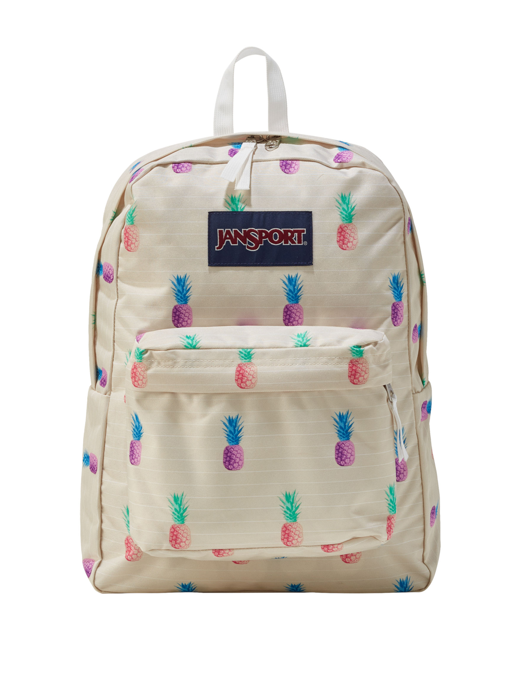 Jansport White Bookbags & Backpacks