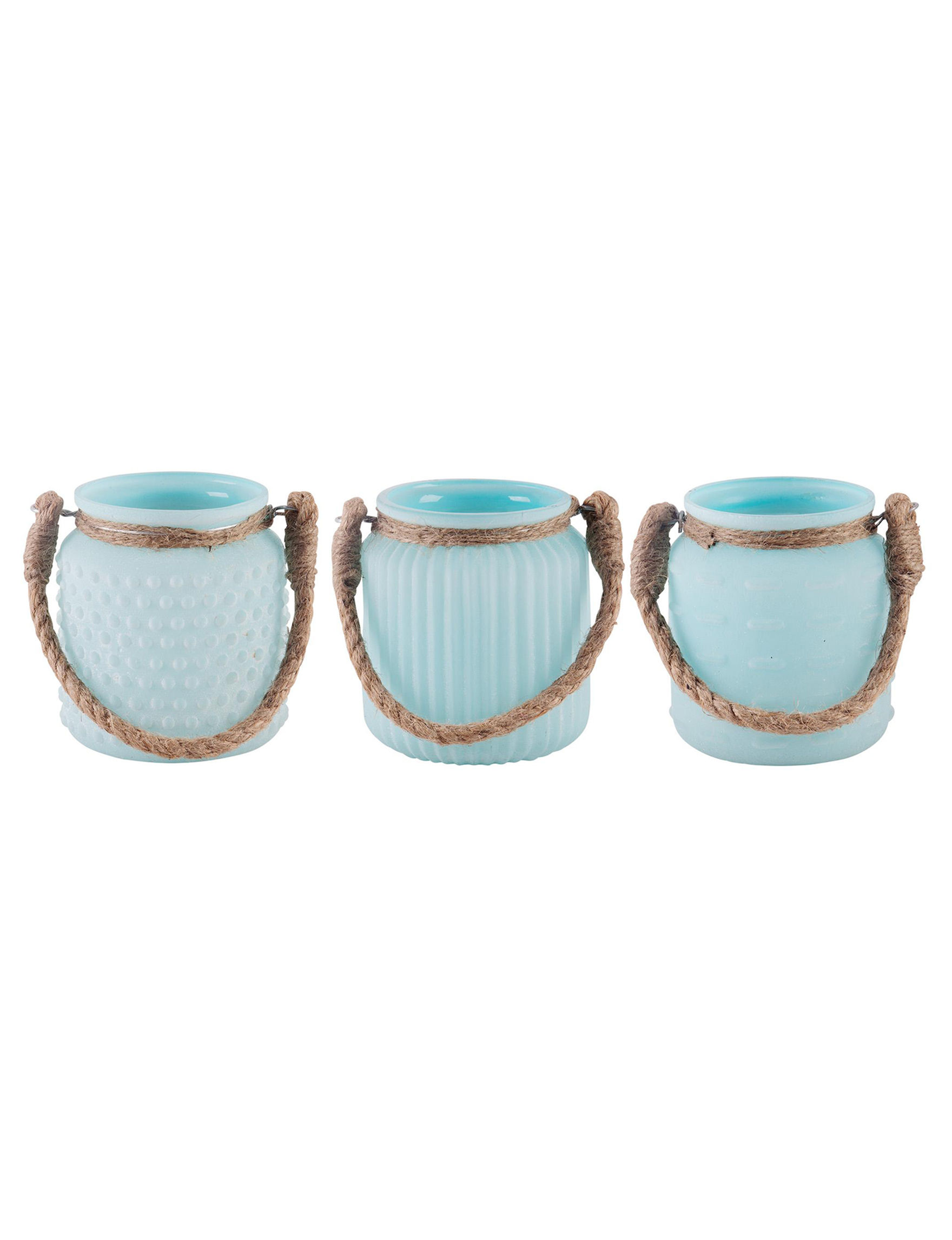 Home Essentials Blue Decorative Objects Candles & Diffusers Lighting & Lamps