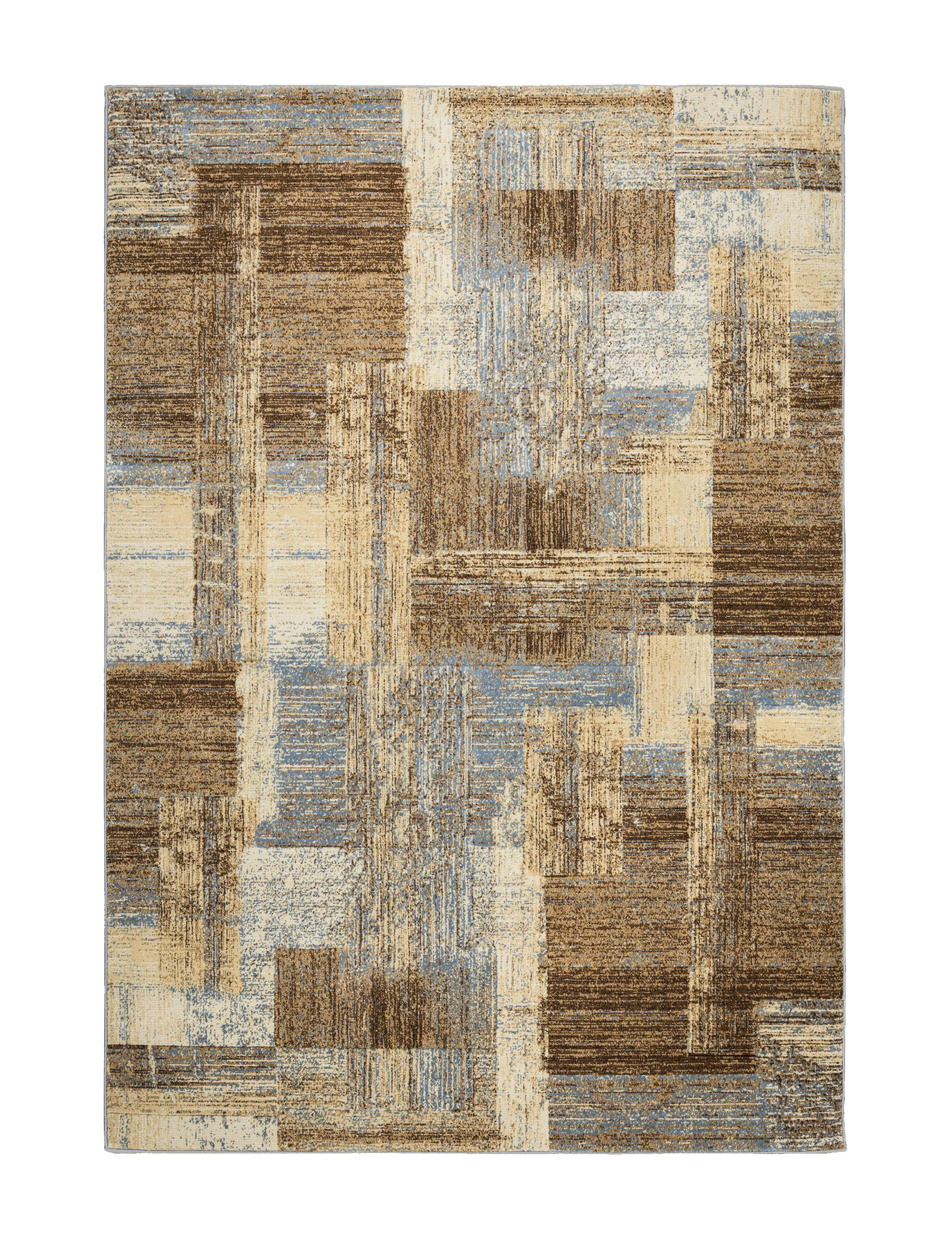 Rizzy Home Brown Multi Area Rugs Rugs
