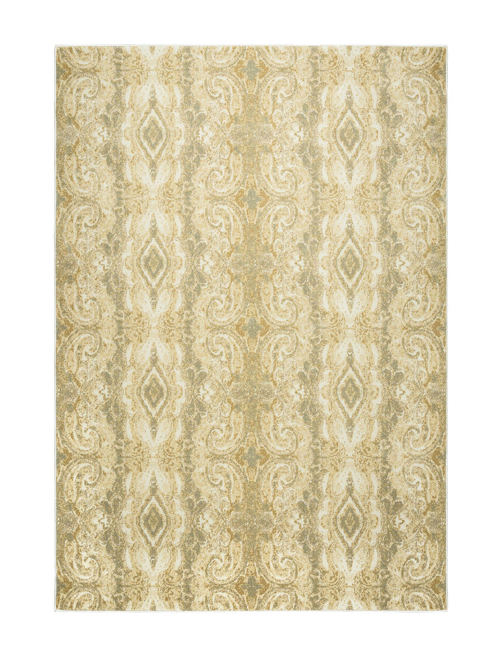 Rizzy Home Beige Area Rugs Rugs