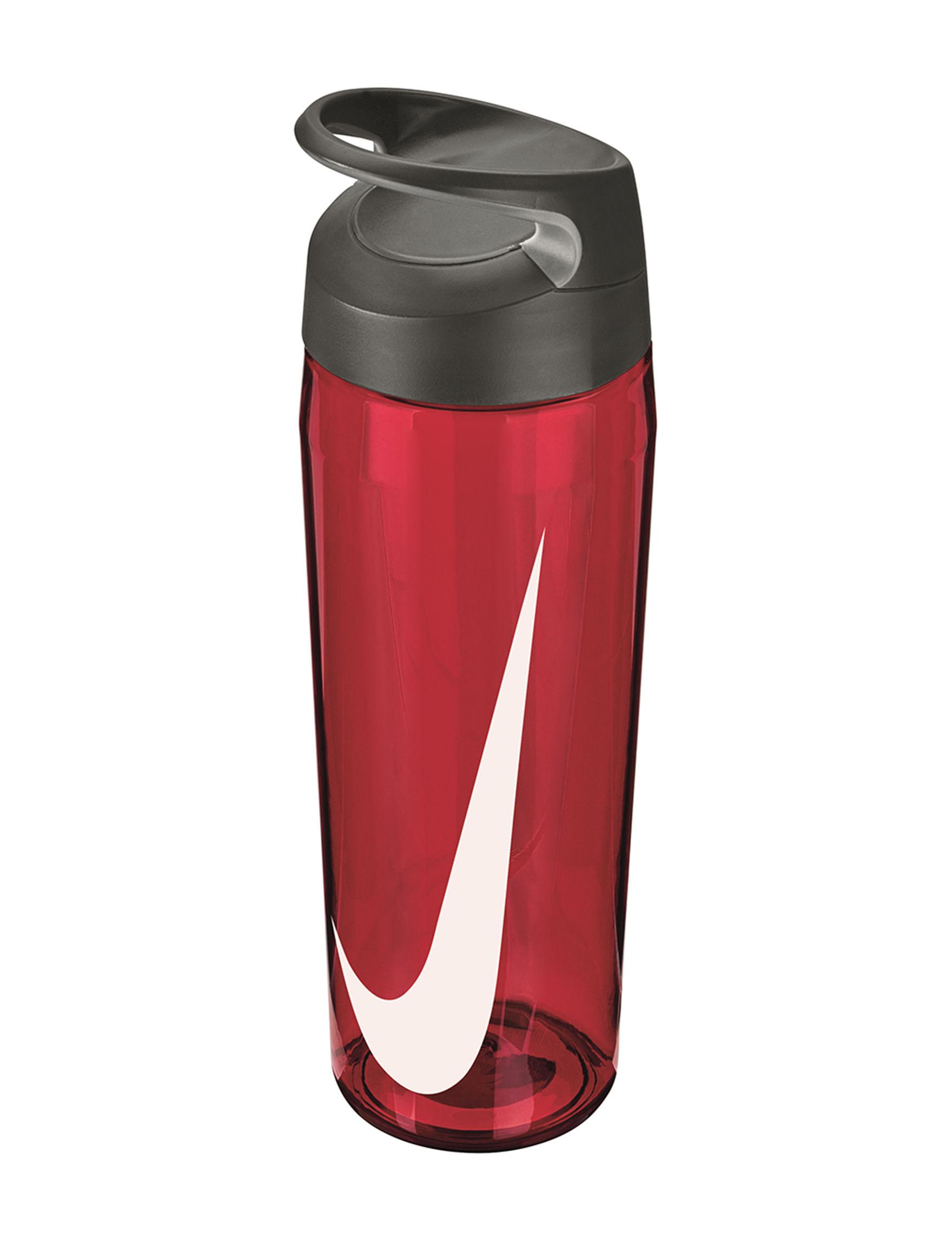 Nike Red Water Bottles Drinkware