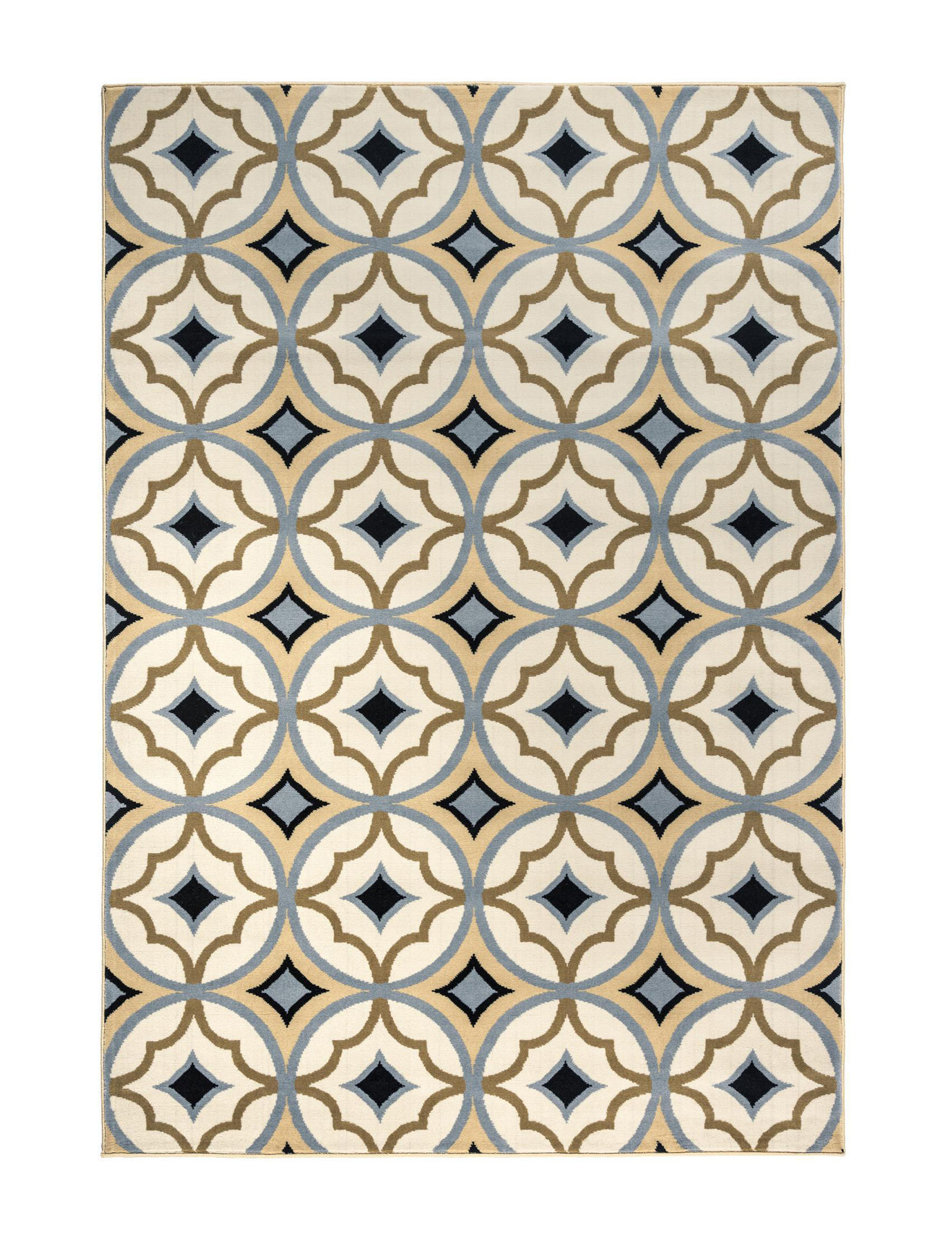 Rizzy Home Ivory Multi Area Rugs Rugs