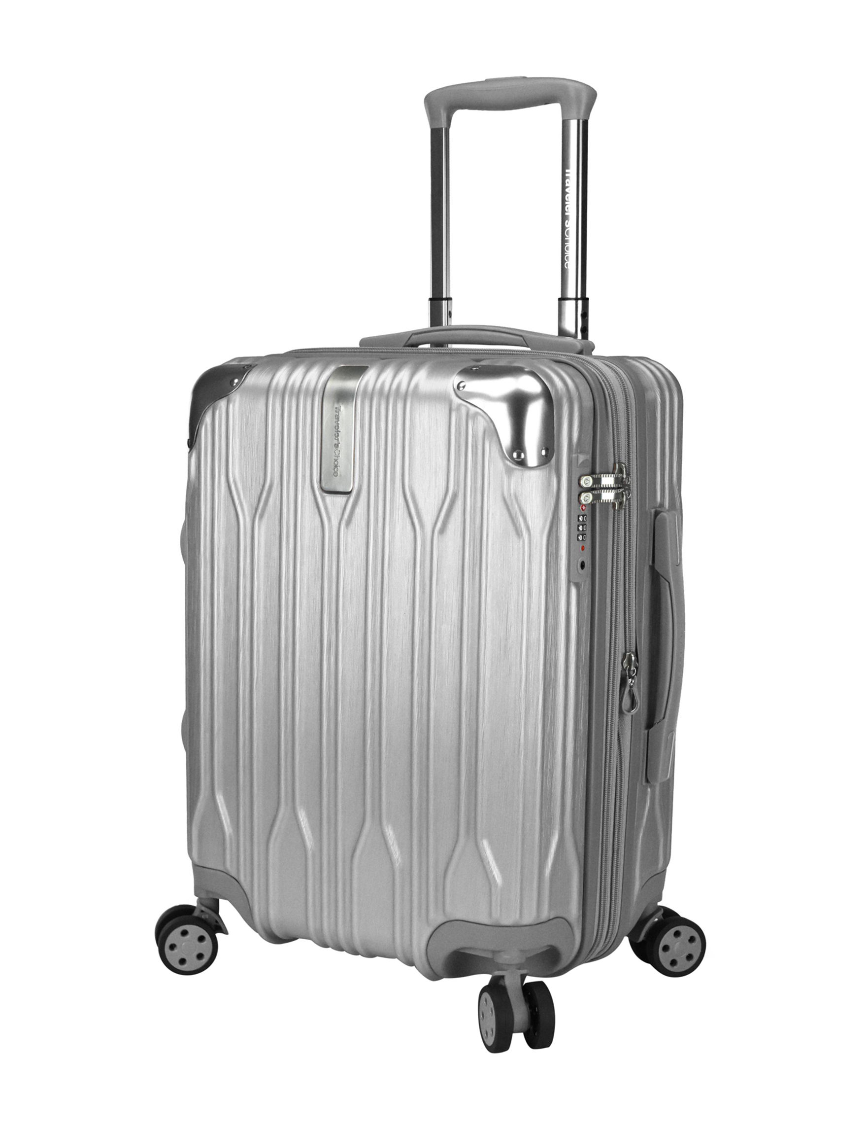 Travelers Choice Silver Upright Spinners