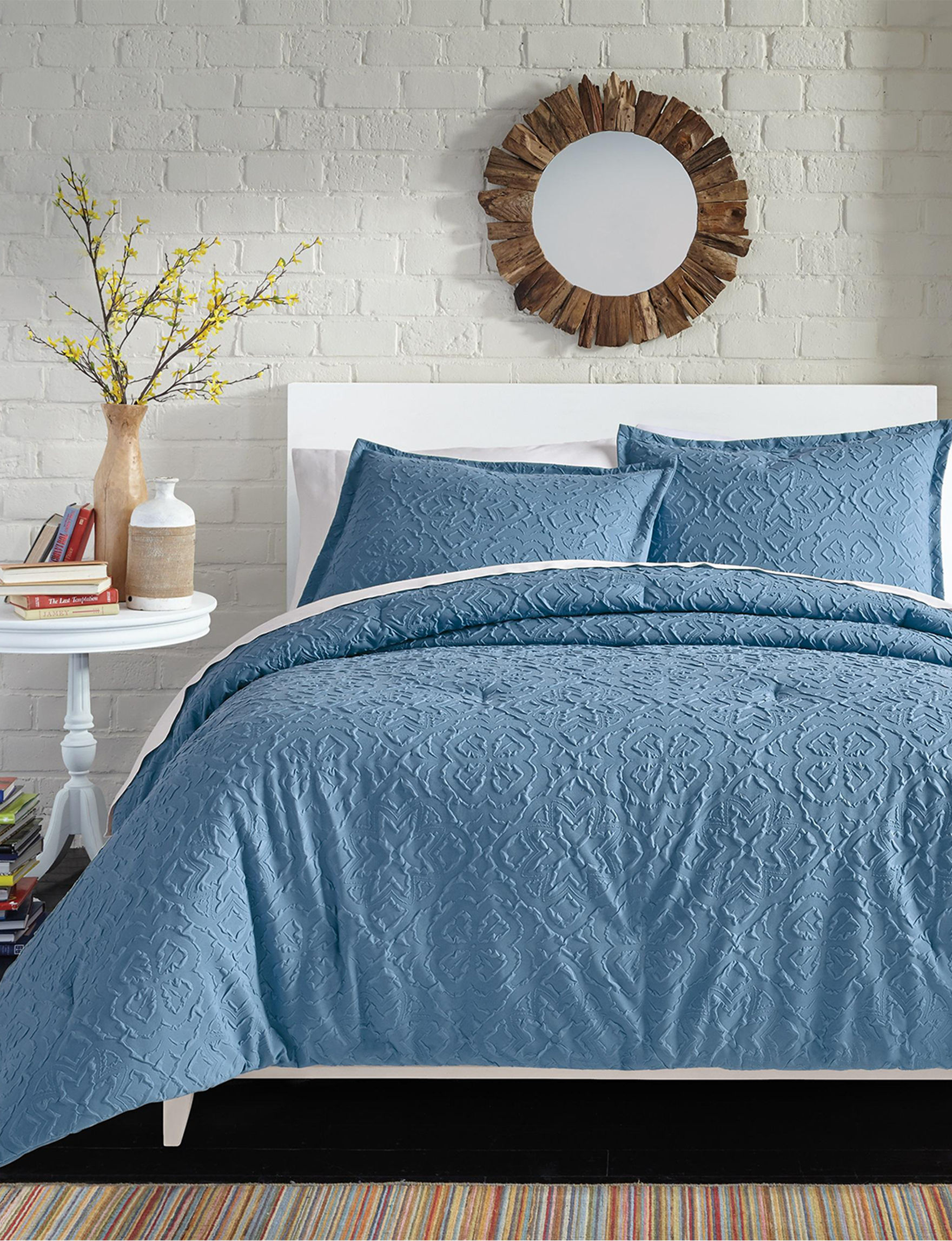 Great Hotels Collection Blue Comforters & Comforter Sets