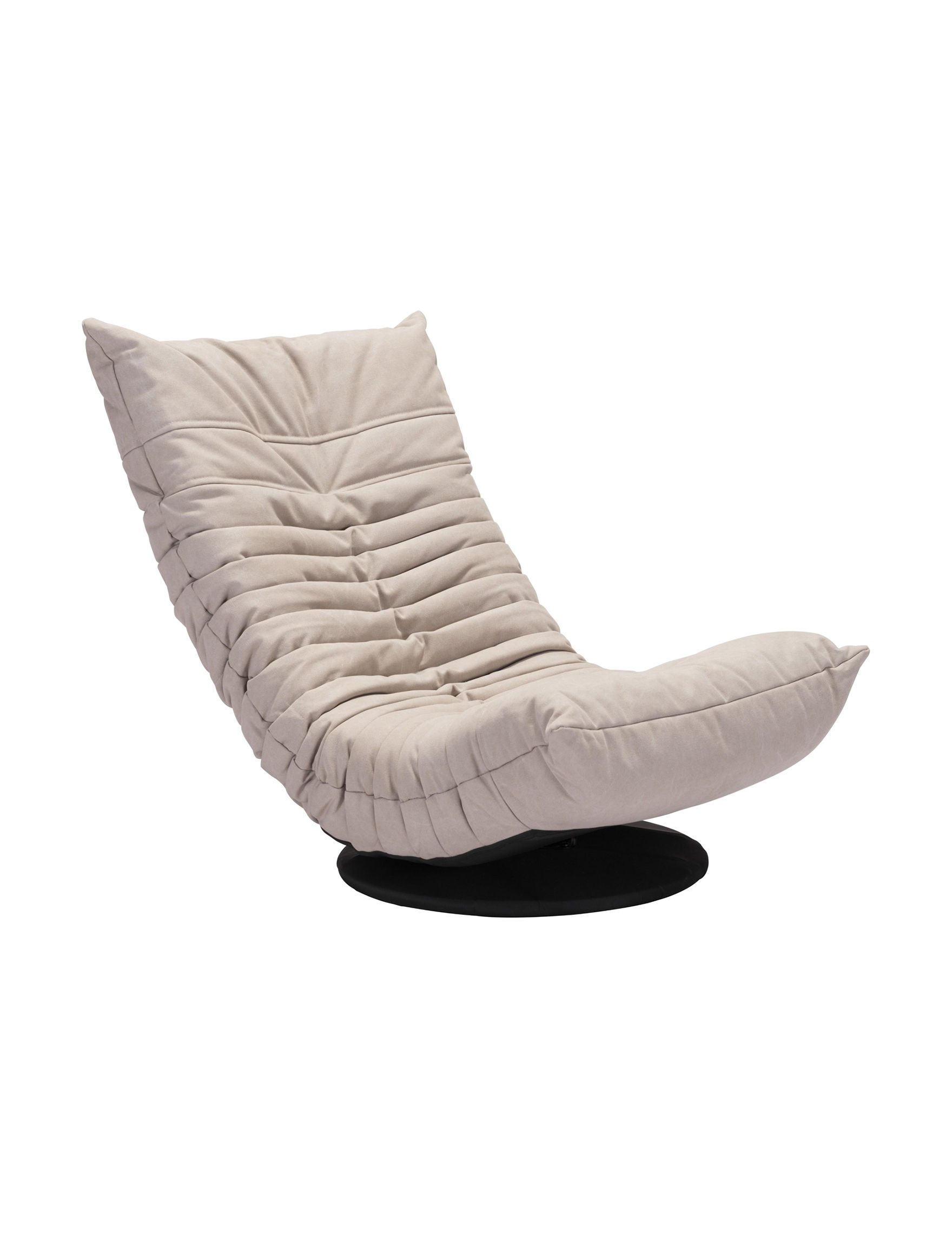 Zuo Modern Beige Accent Chairs Living Room Furniture