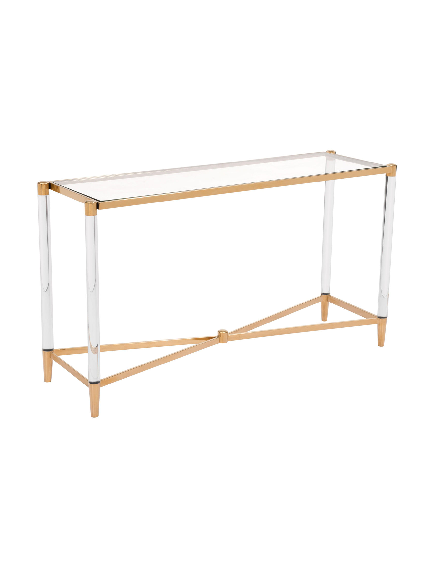 Zuo Modern Gold Accent & End Tables Living Room Furniture