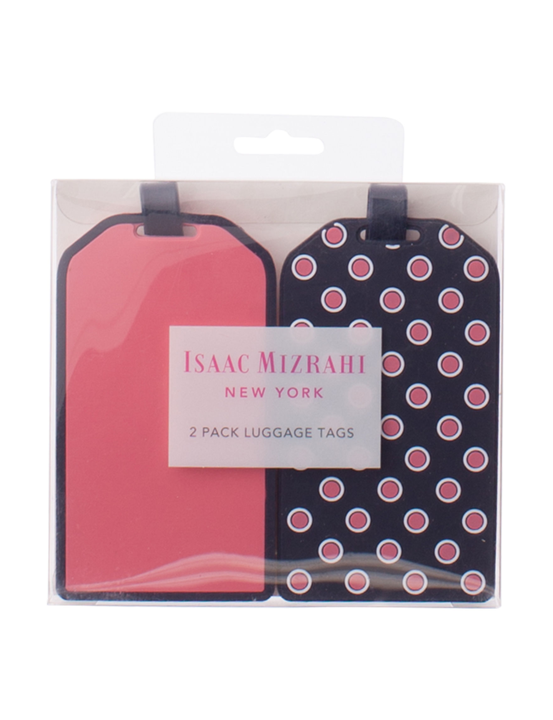 Isaac Mizrahi Pink Luggage Sets Travel Accessories