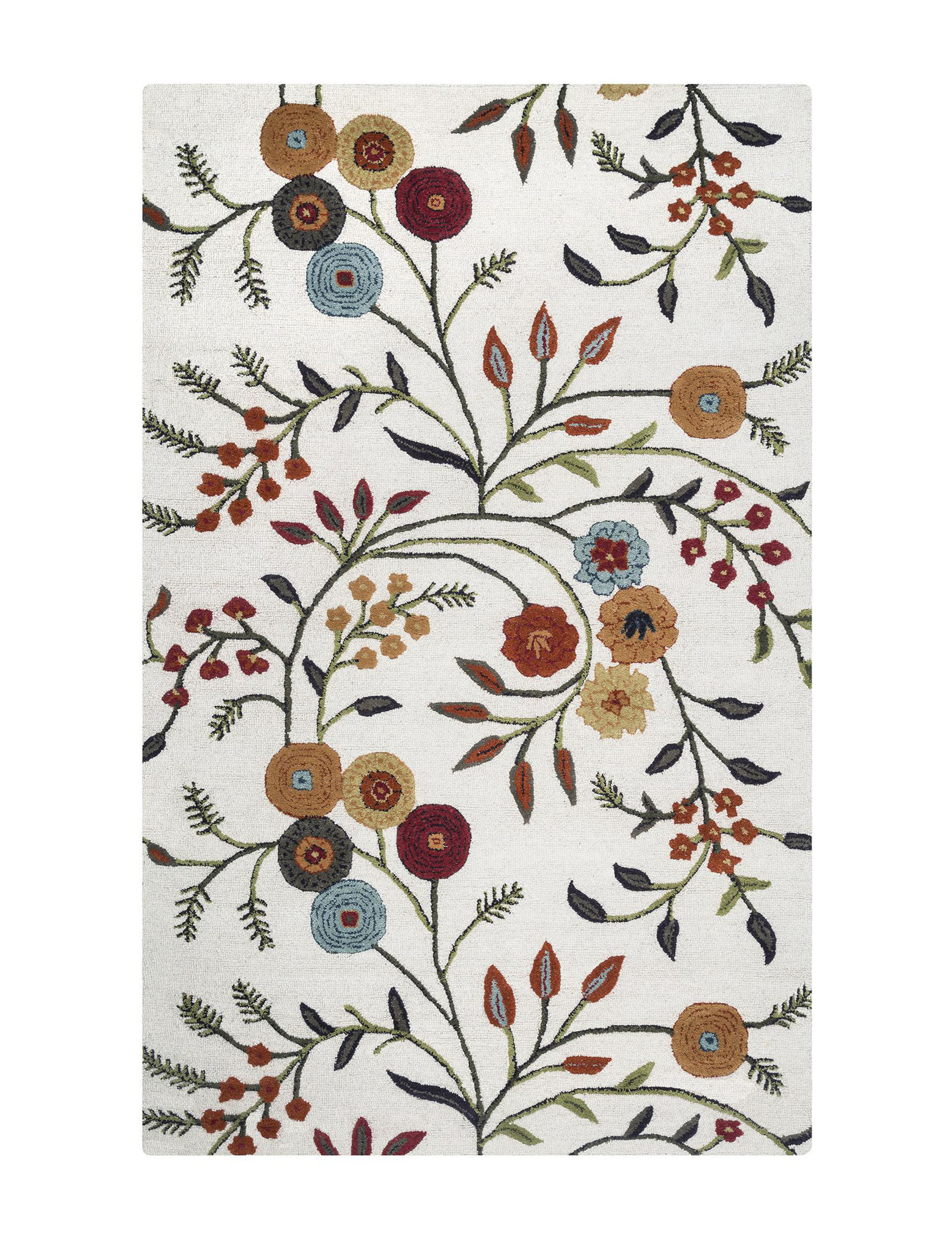 Rizzy Home Ivory Area Rugs Rugs