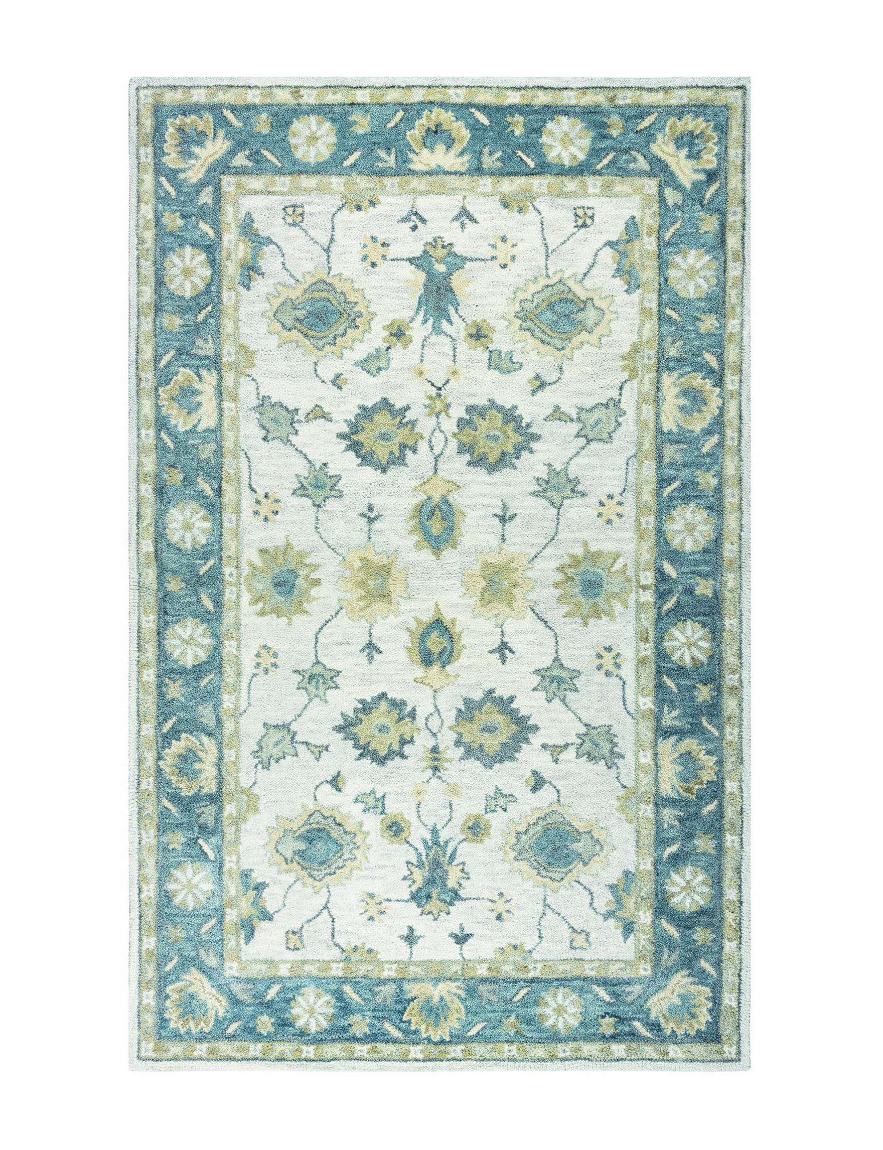 Rizzy Home Teal Area Rugs Rugs