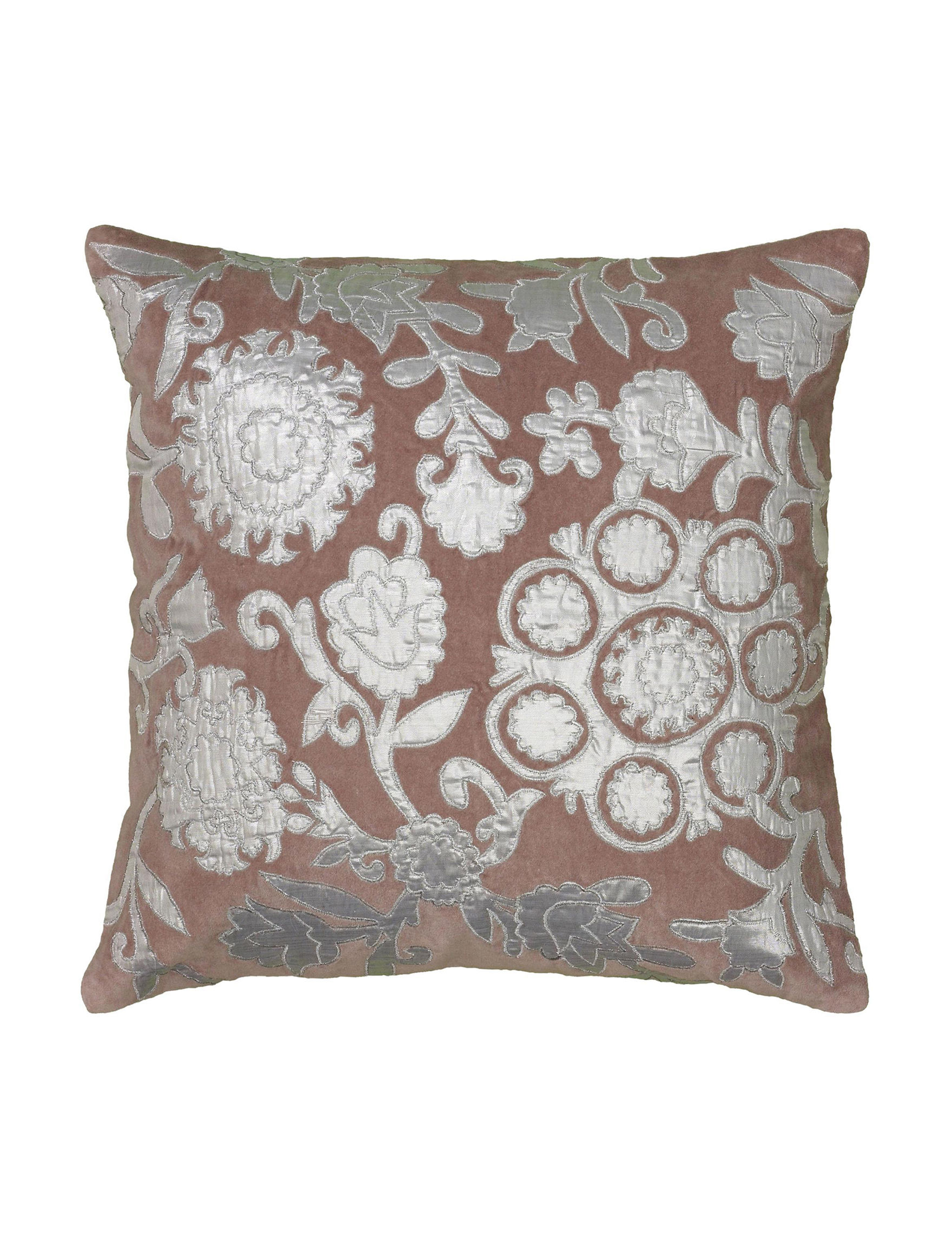 Rizzy Home Pink Decorative Pillows