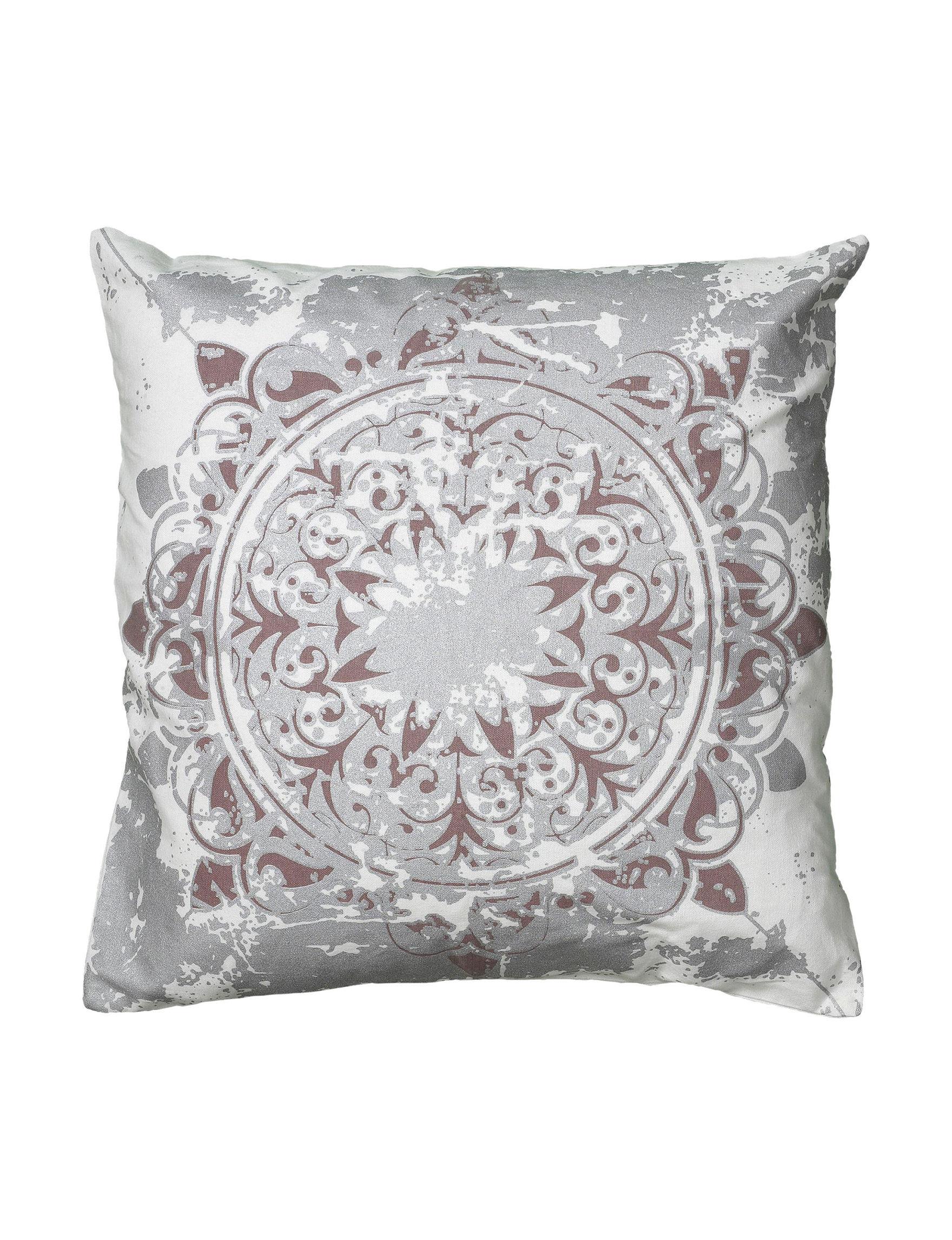 Rizzy Home White Decorative Pillows
