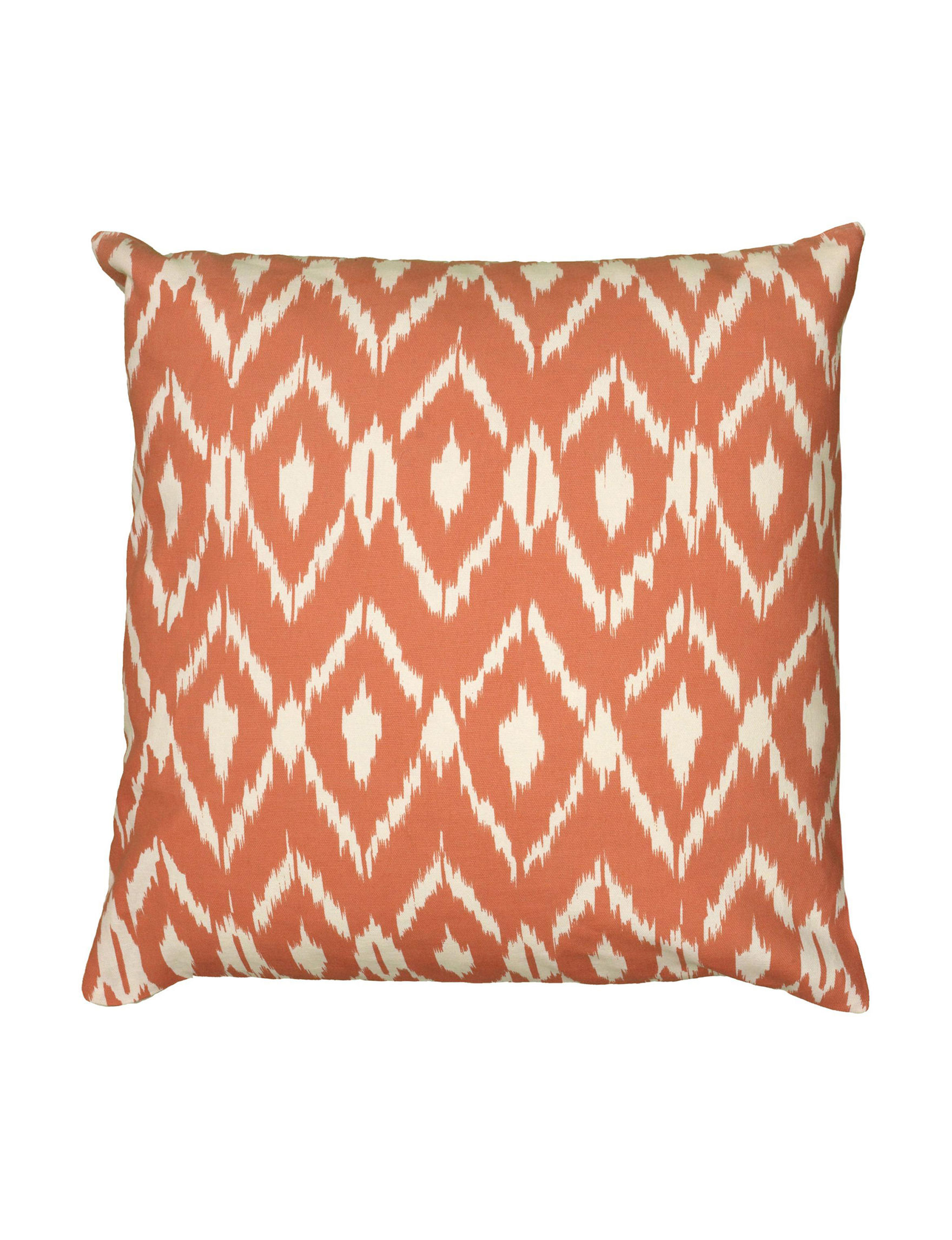 Rizzy Home Orange Decorative Pillows