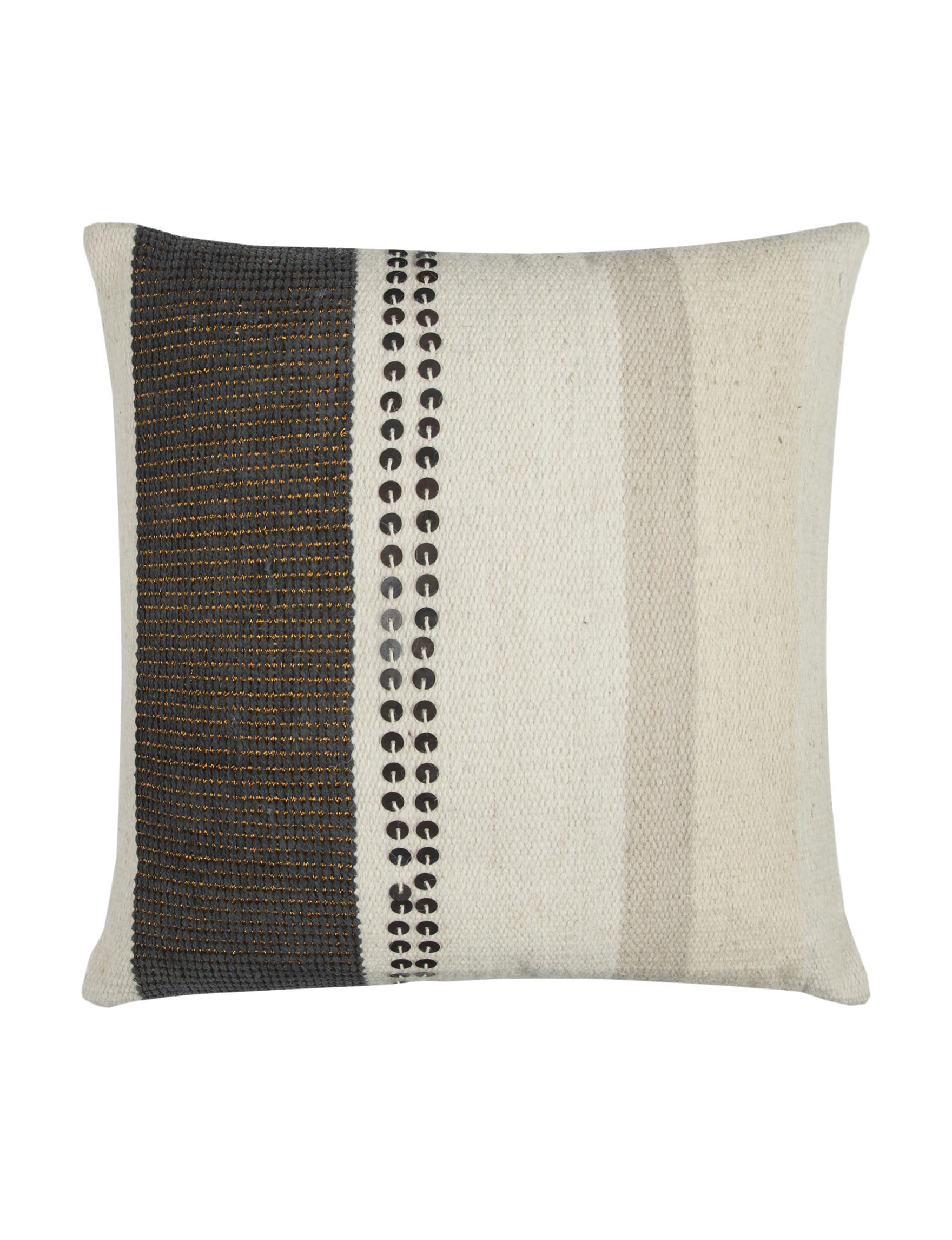 Rizzy Home Beige / Brown Decorative Pillows