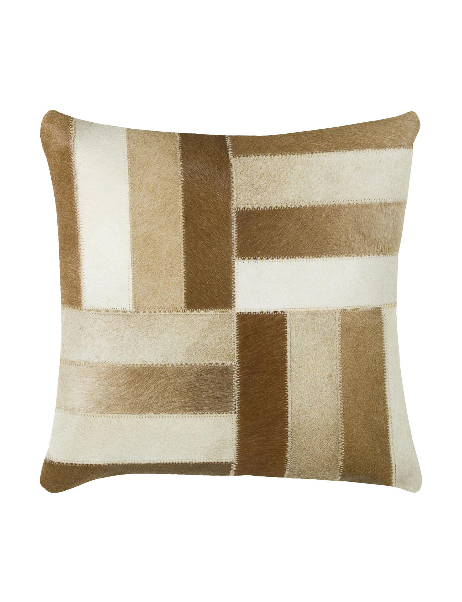 Rizzy Home khaki/brown Decorative Pillows