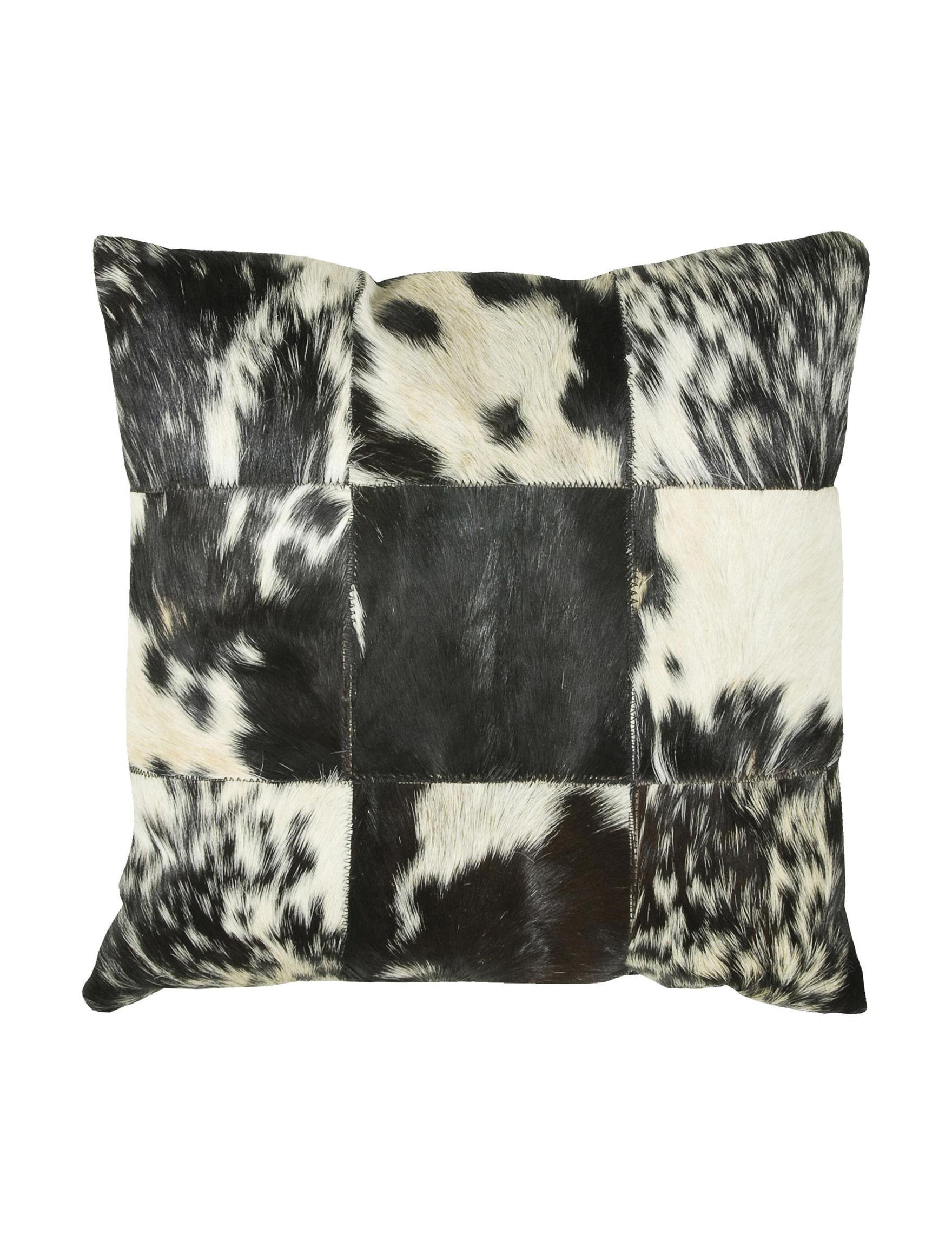 Rizzy Home Black /  White Decorative Pillows