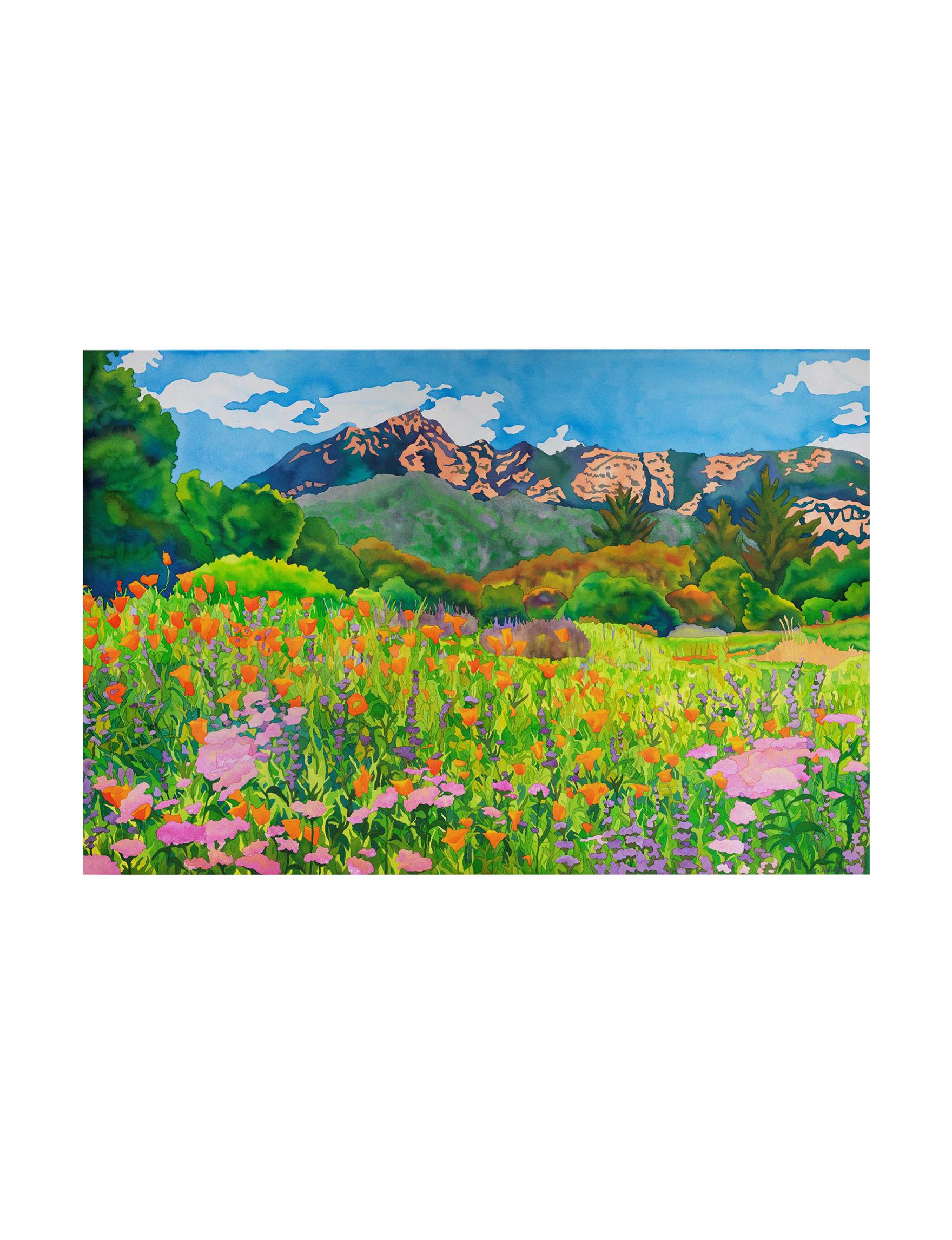 trademark fine art santa barbara botanic garden by clarissa luminess canvas art stage stores - Santa Barbara Botanic Garden