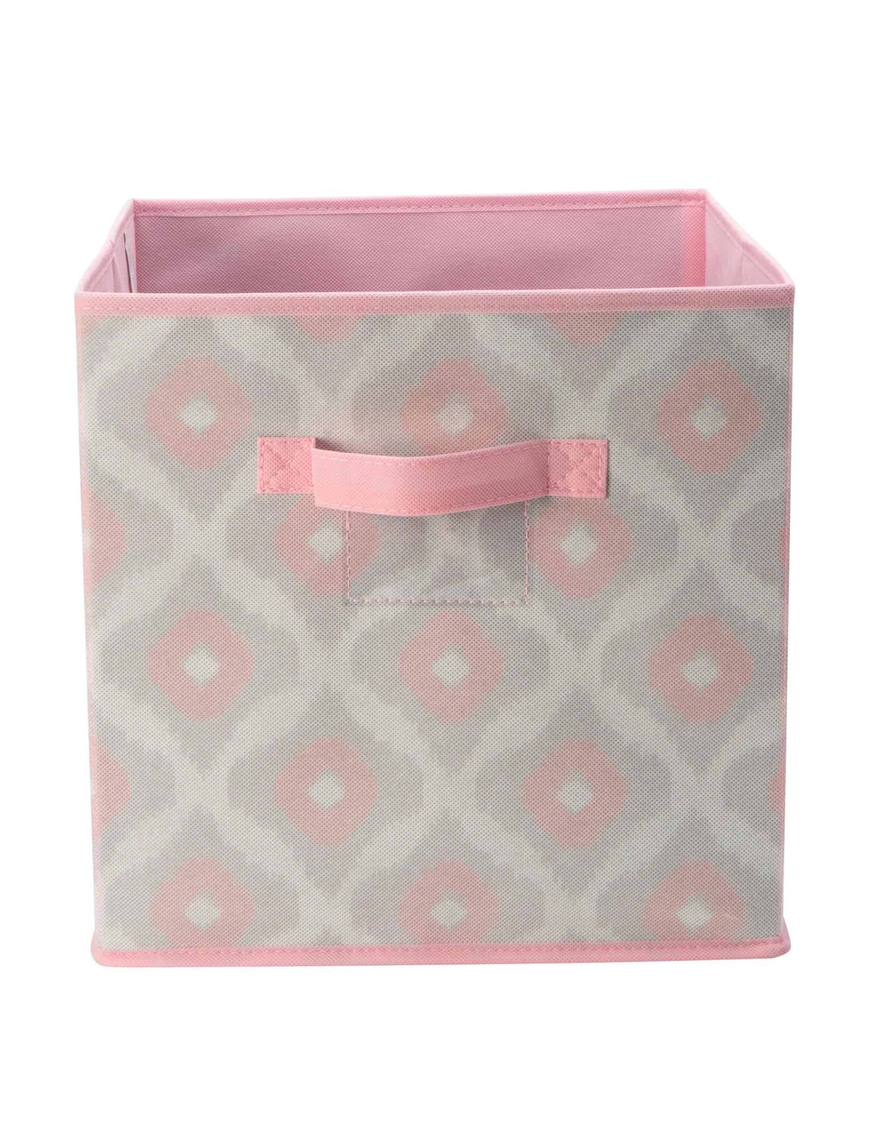 Macbeth Collection Grey / Pink Storage & Organization