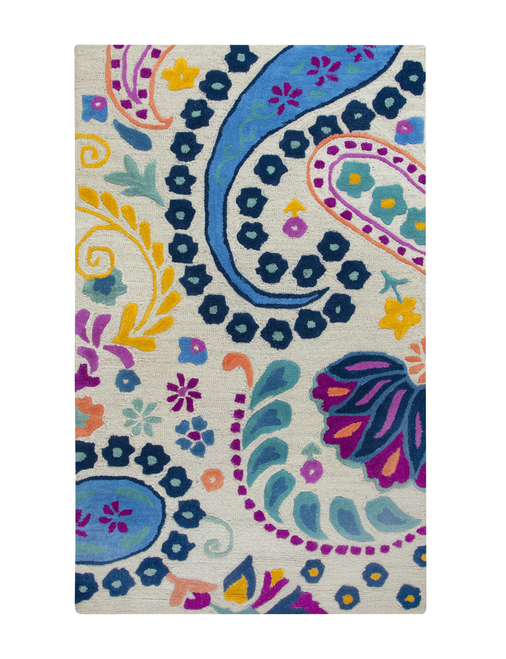 Rizzy Home Blue Area Rugs Rugs