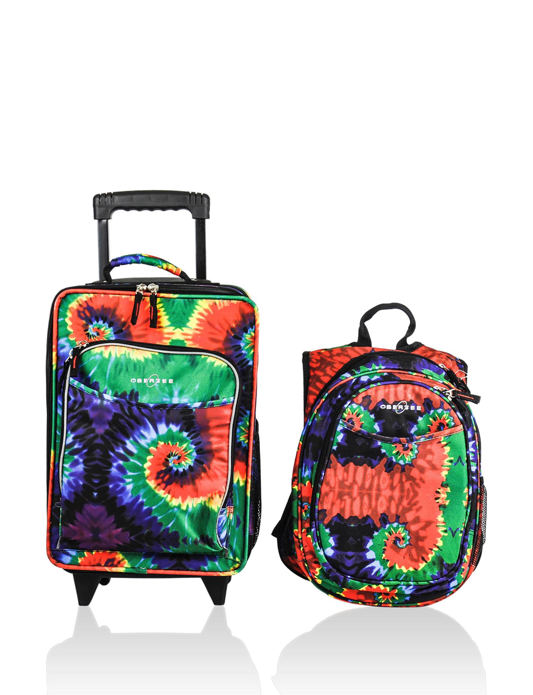 Obersee Tie Dye Luggage Sets