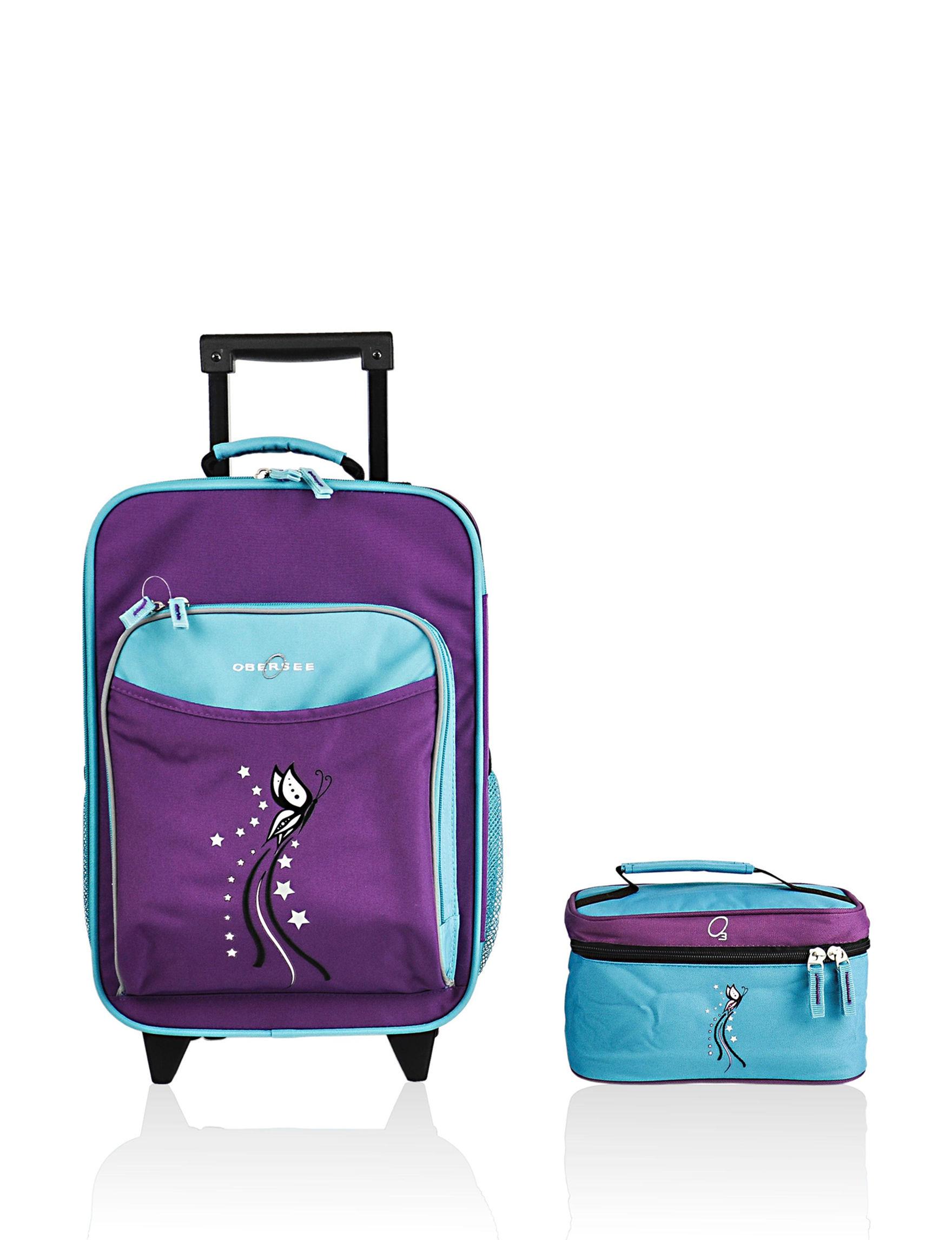 Obersee Blue / Purple Luggage Sets