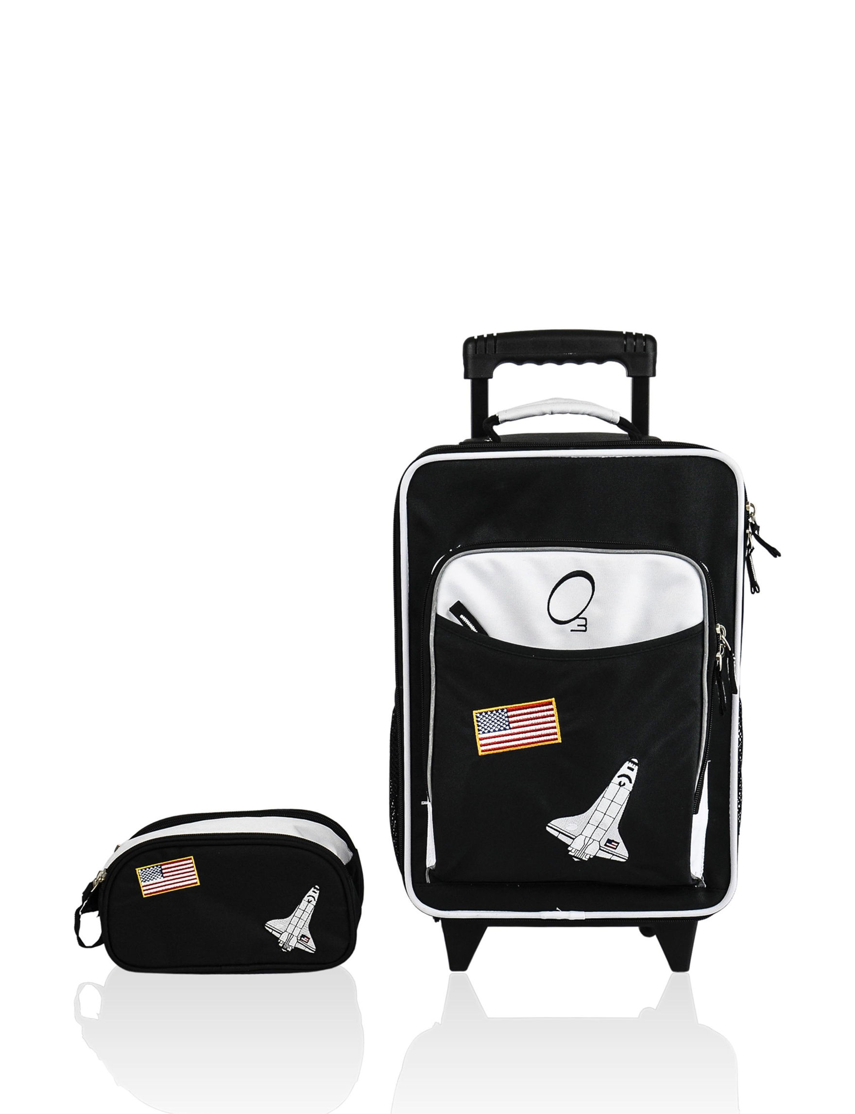Obersee Black / White Luggage Sets