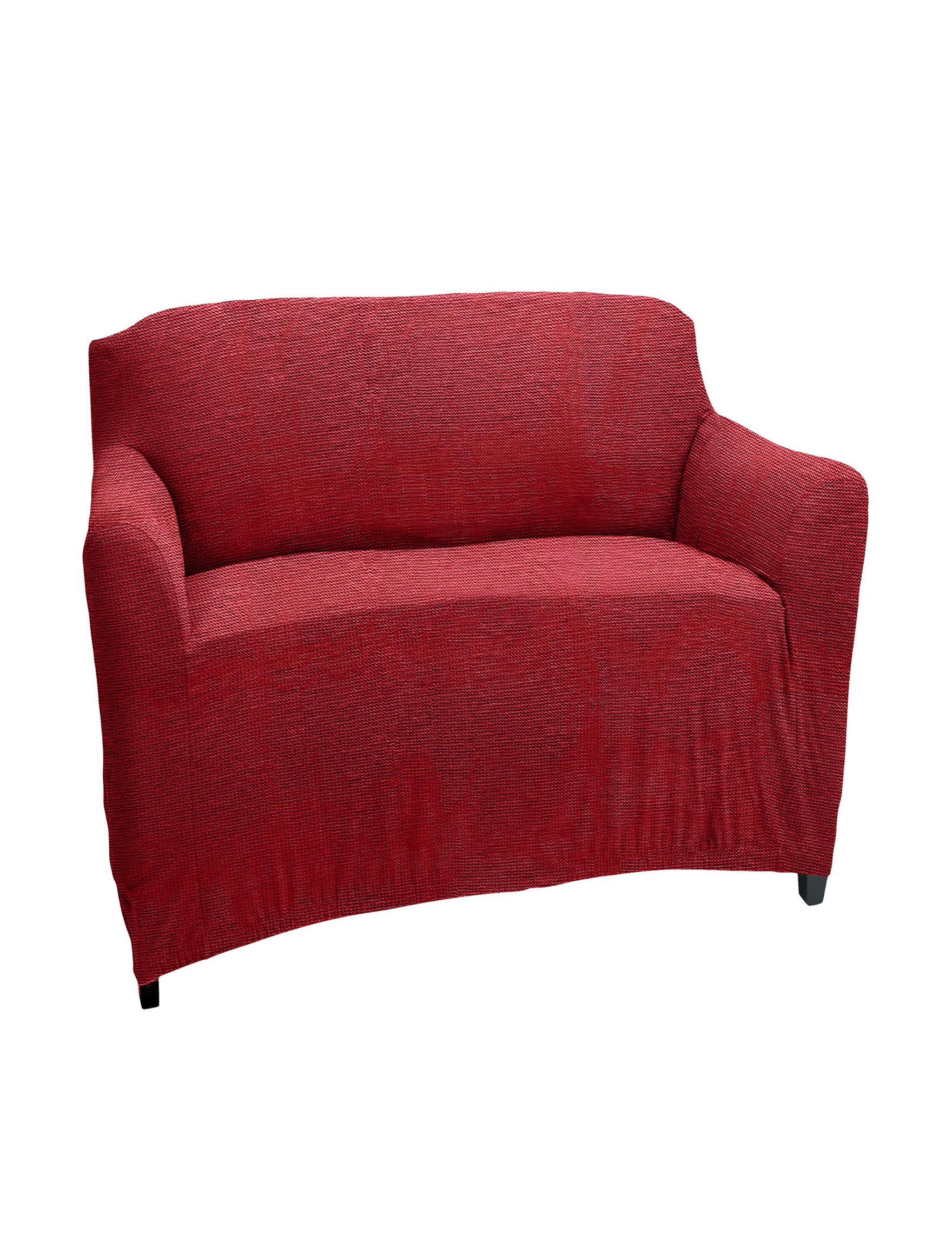 Home Details Burgundy Slipcovers