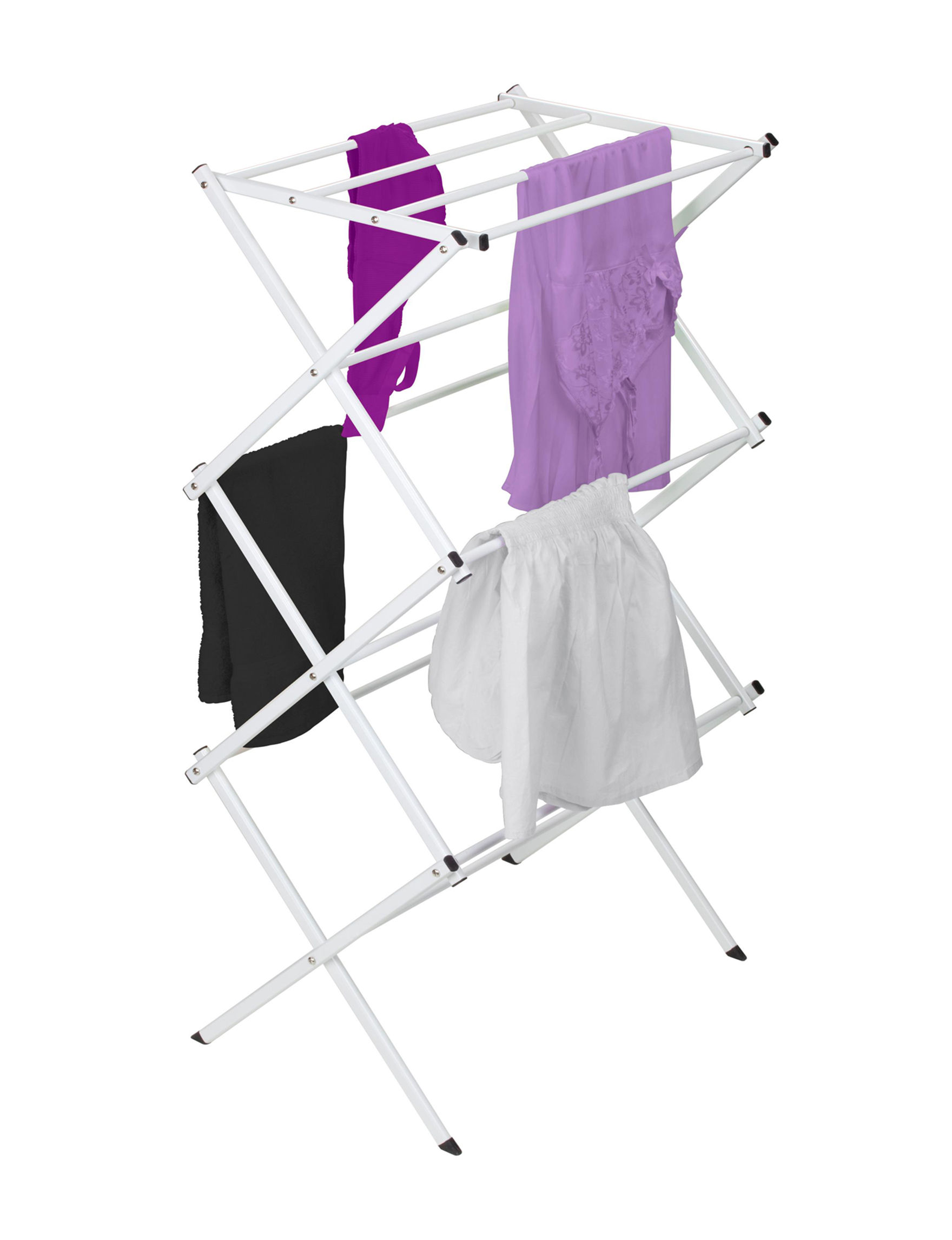 Woolite White Garment & Drying Racks Storage & Organization