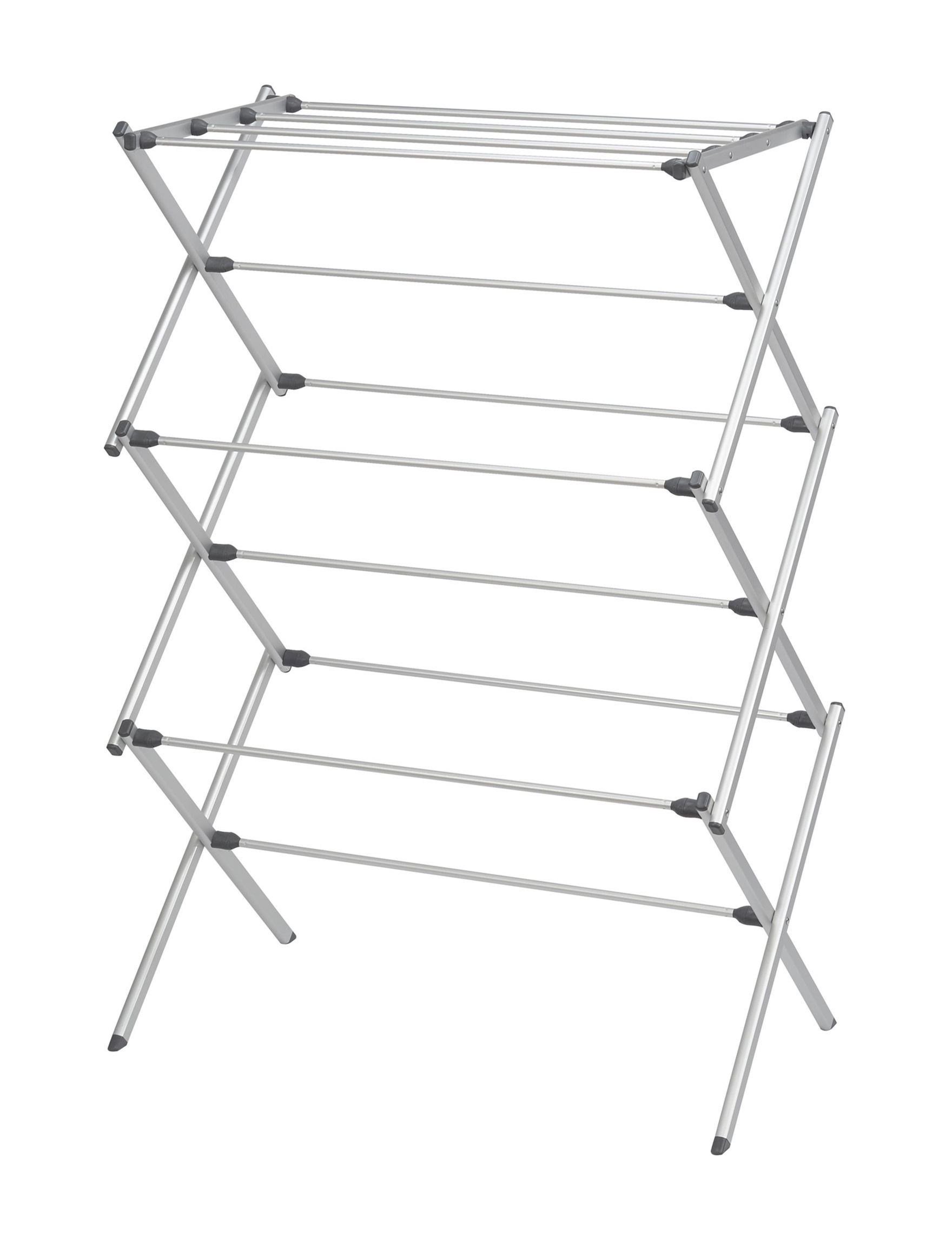 Woolite Silver Garment & Drying Racks Storage & Organization