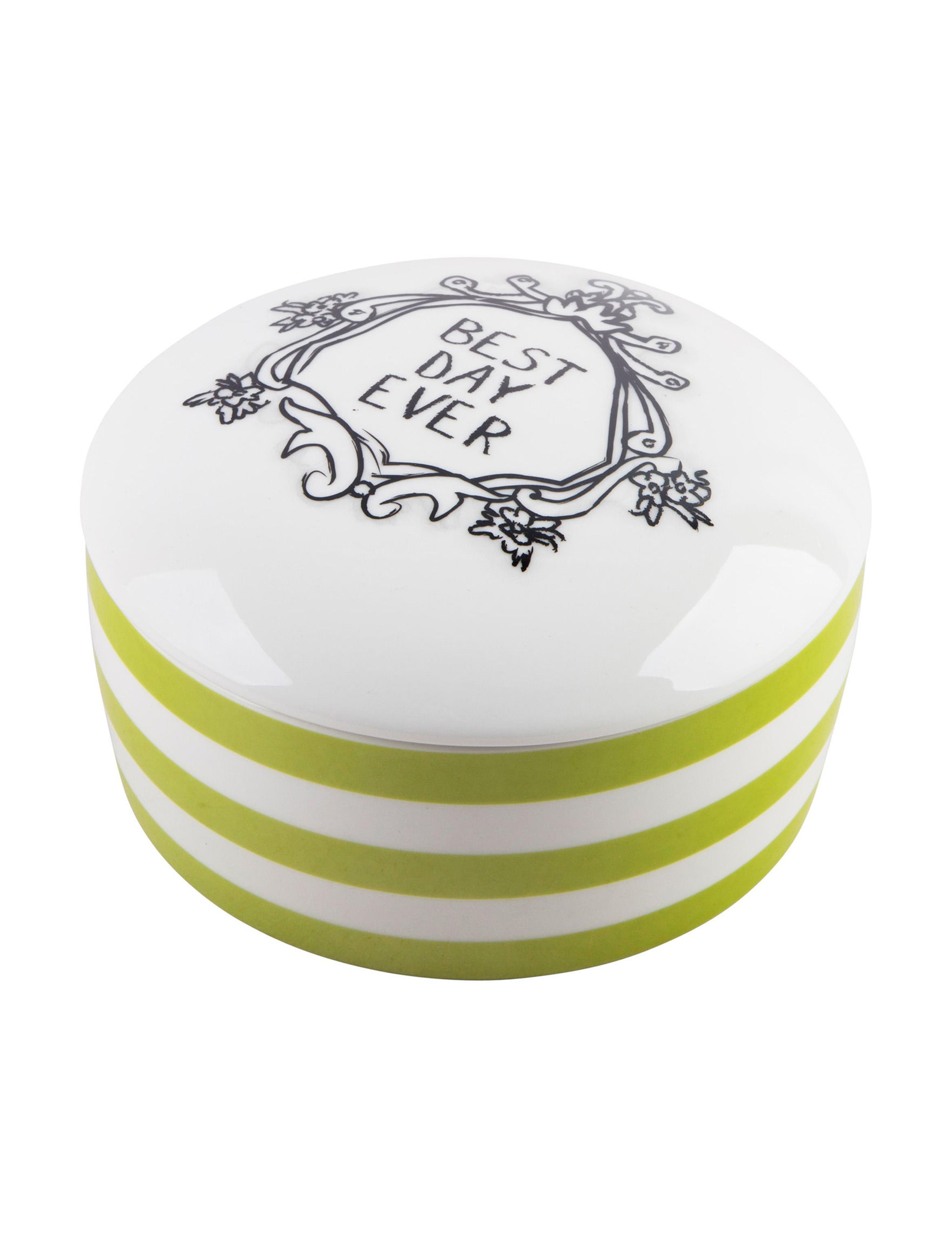Home Essentials White / Multi Decorative Objects Home Accents