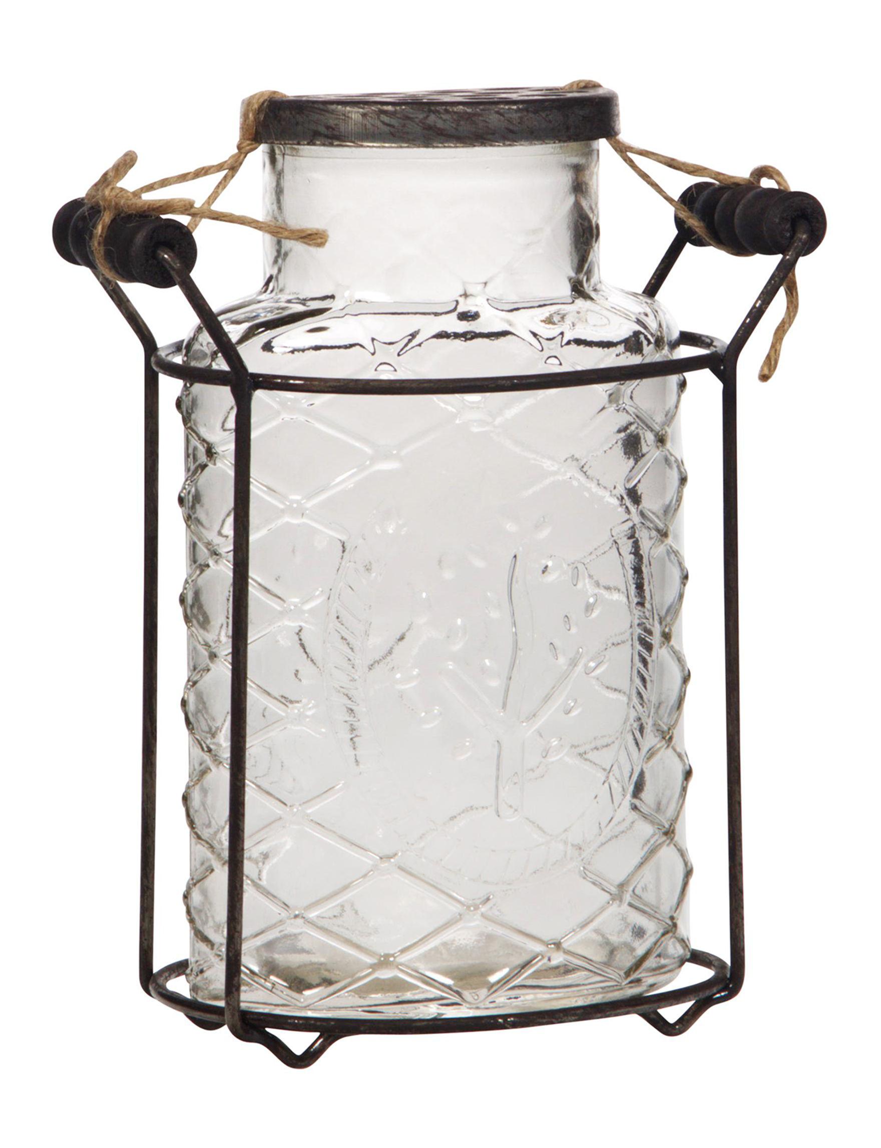Home Essentials Black Vases & Decorative Bowls Outdoor Decor