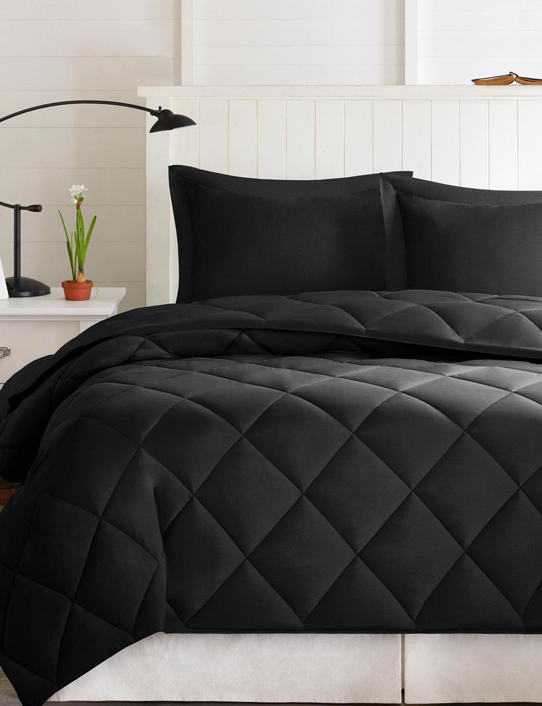 Madison Park Black / Black Comforters & Comforter Sets