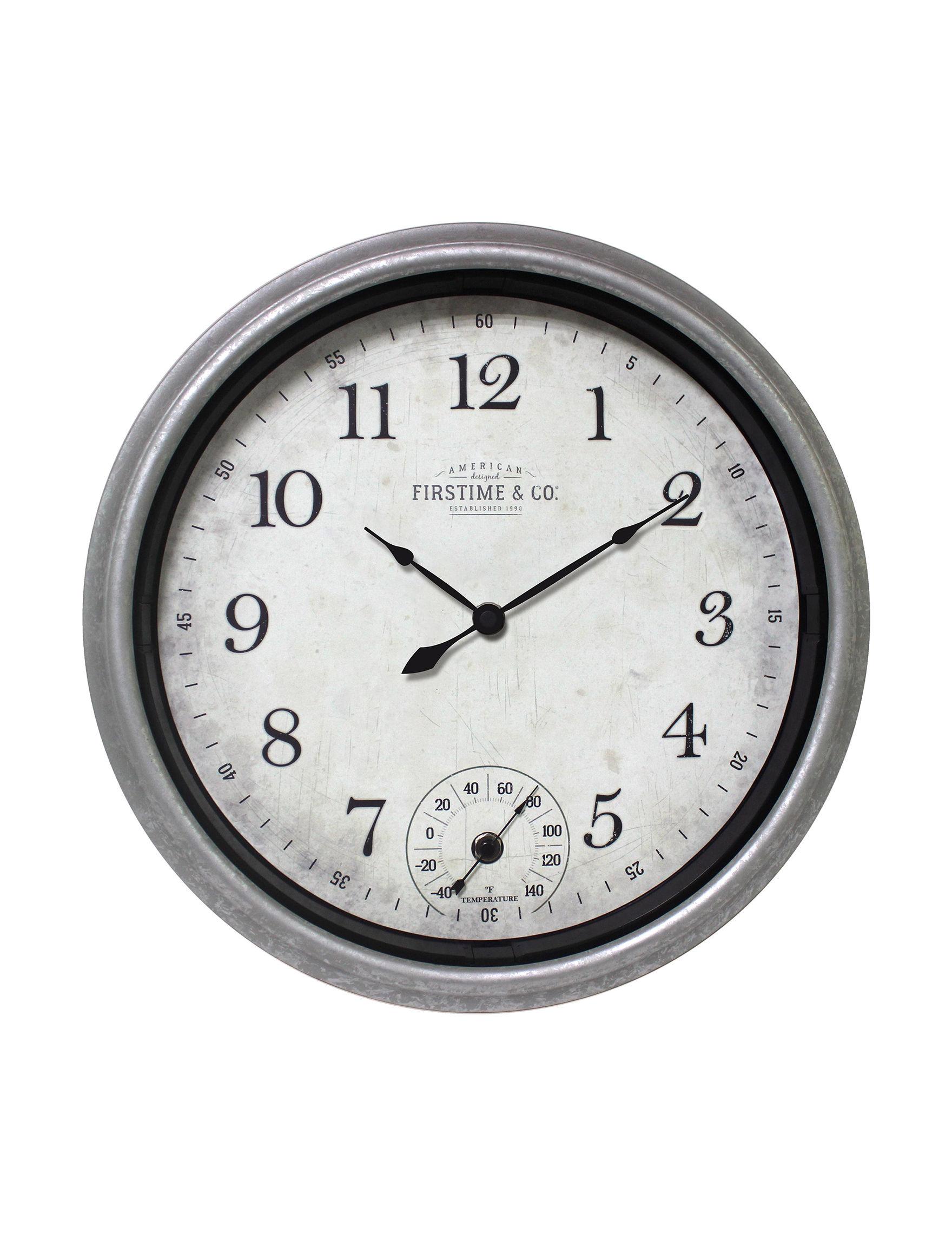 Firstime Manufactory  Wall Clocks Wall Decor