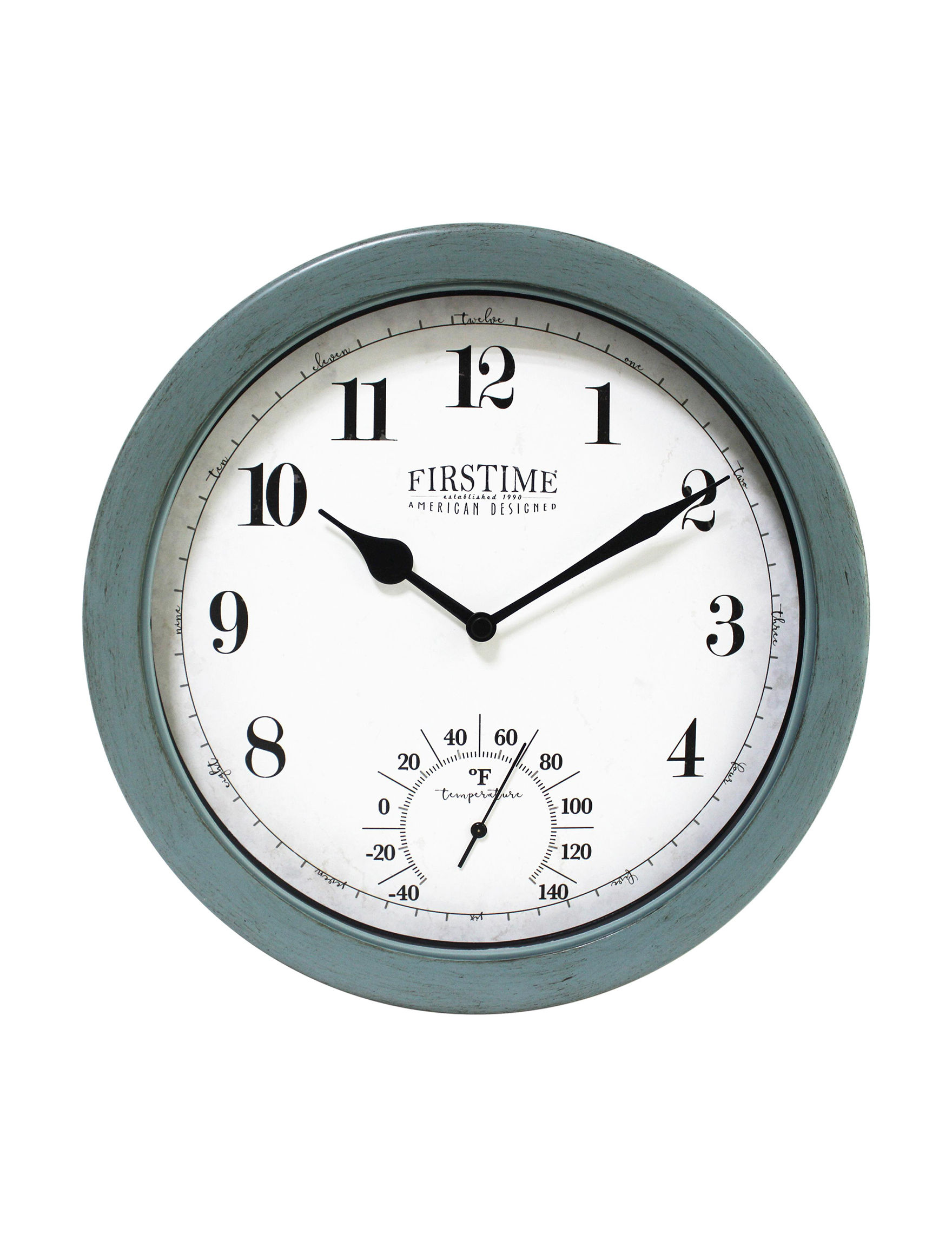 Firstime Manufactory  Wall Clocks Wall Decor