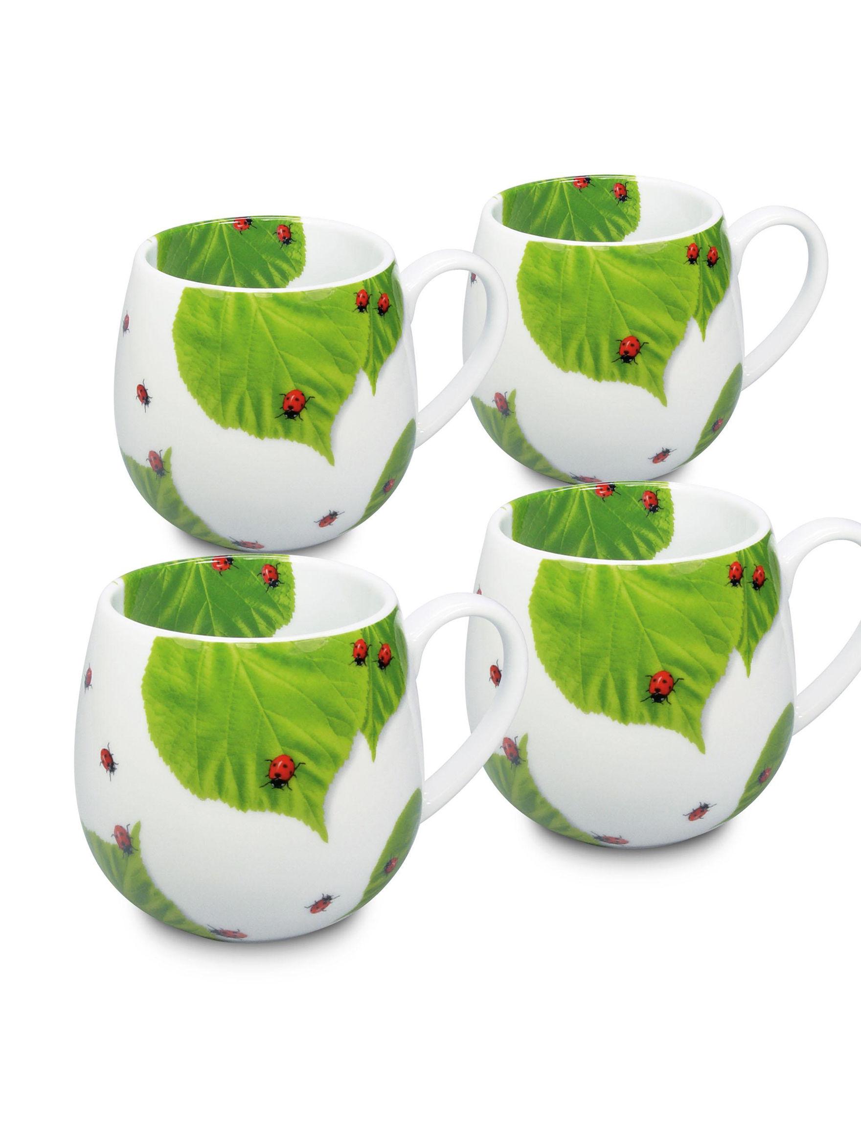Konitz White Multi Mugs Drinkware