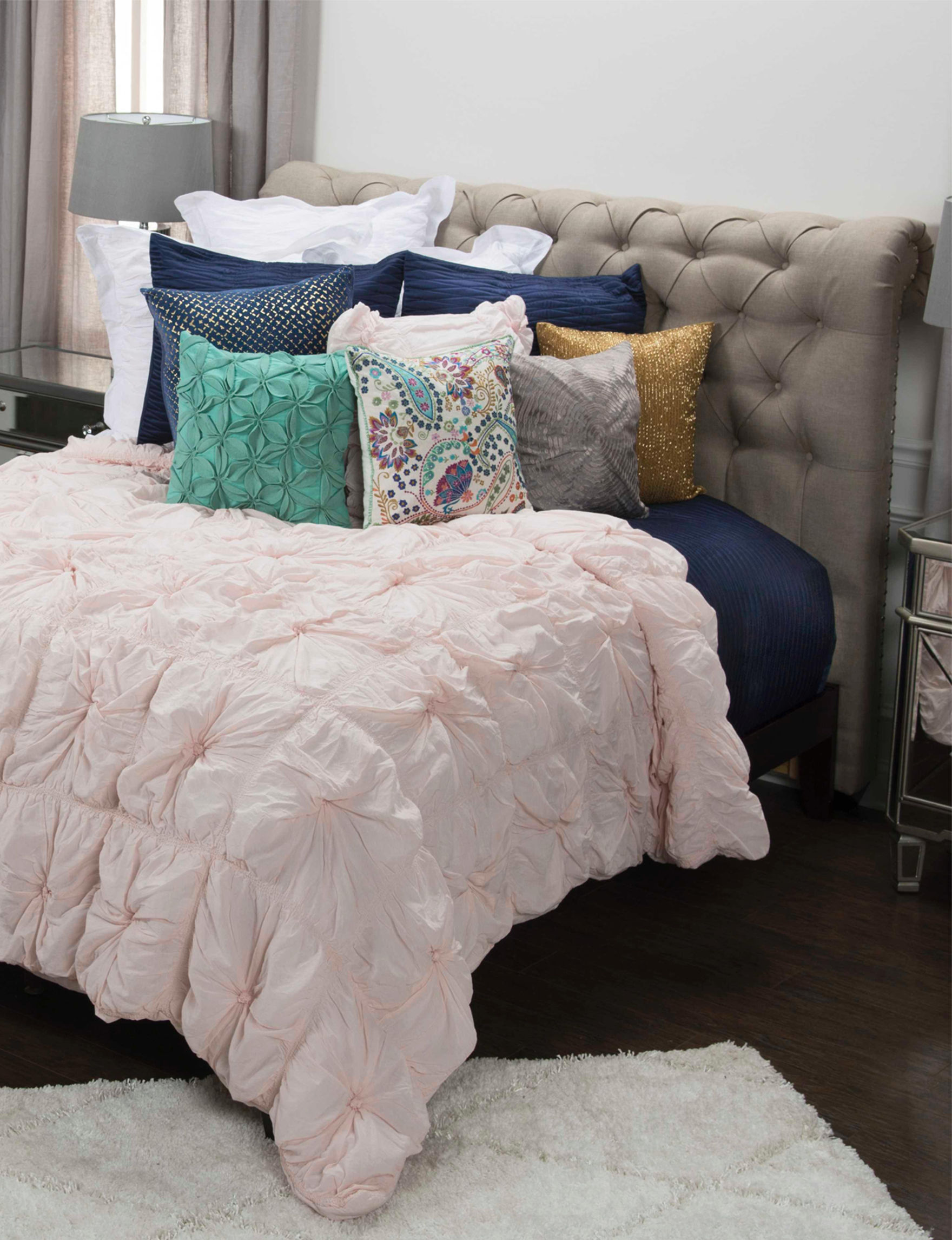 Rizzy Home Pink Comforters & Comforter Sets