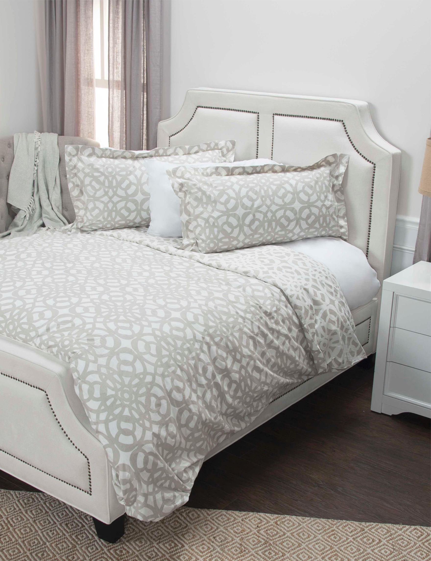 Rizzy Home Taupe Duvets & Duvet Sets