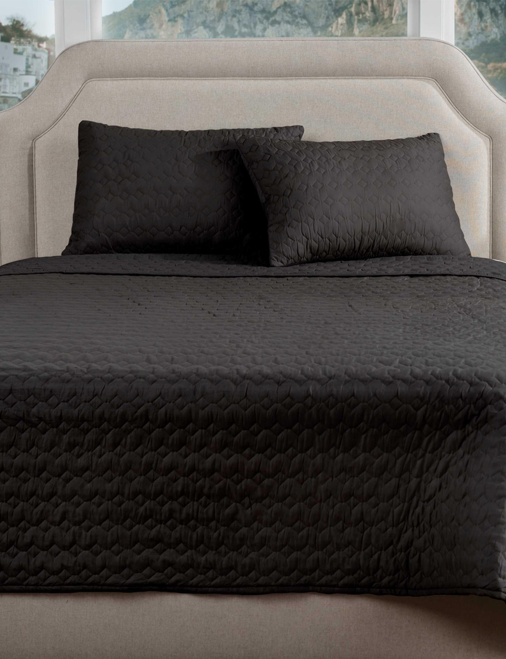 Rizzy Home Black Quilts & Quilt Sets