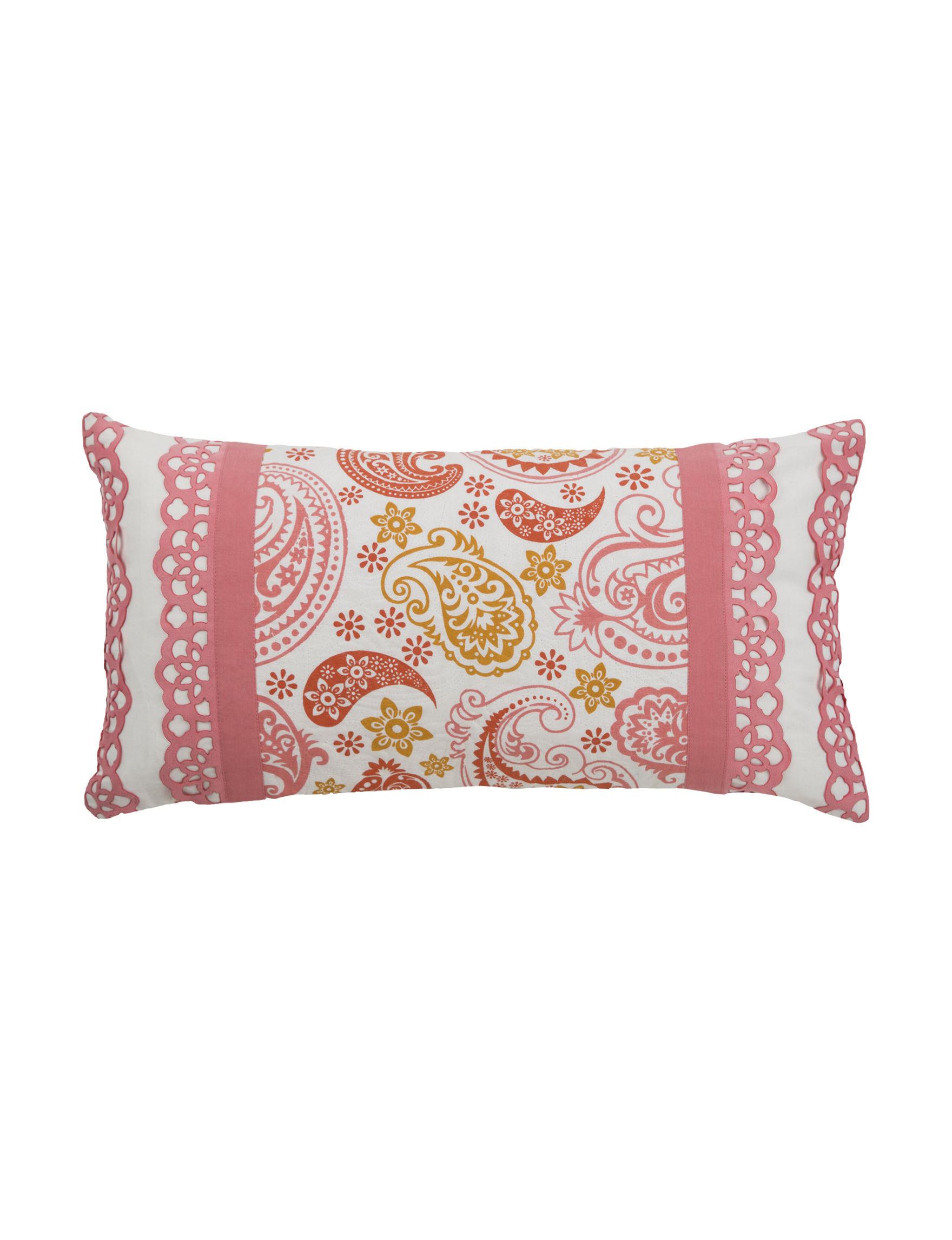 Rizzy Home Cream Decorative Pillows